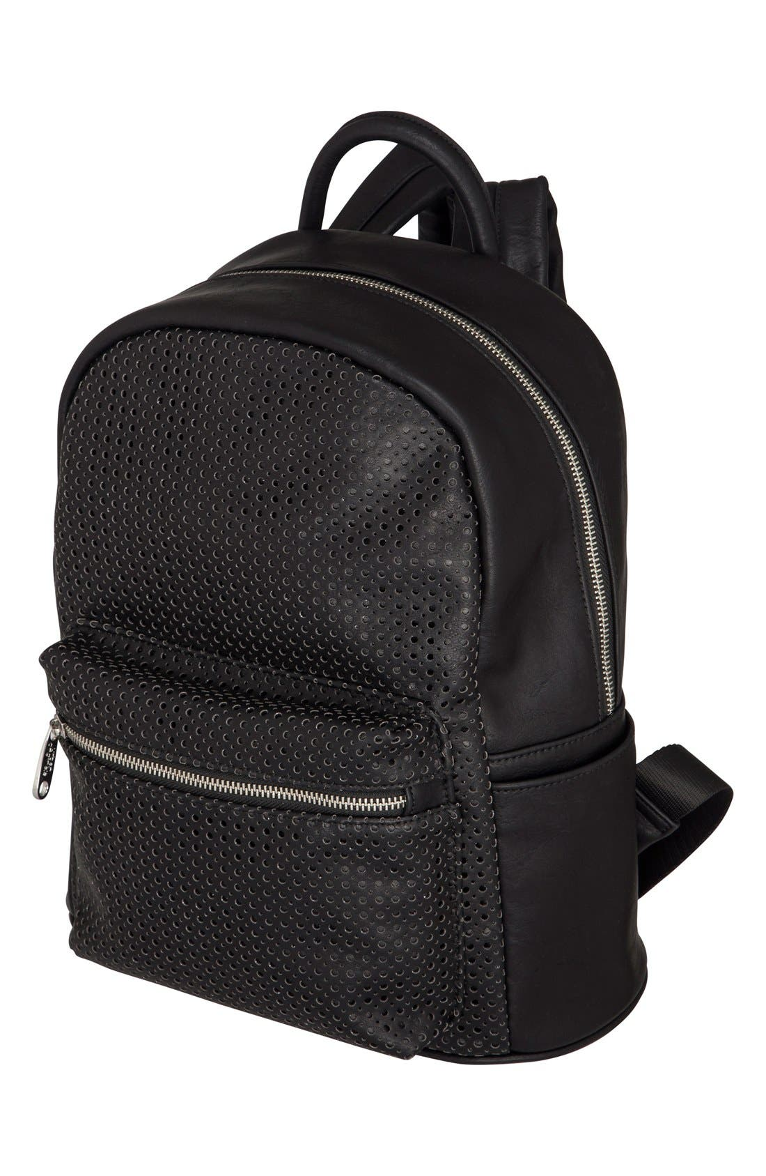 Alternate Image 2  - Urban Originals 'Lola' Perforated Vegan Leather Backpack