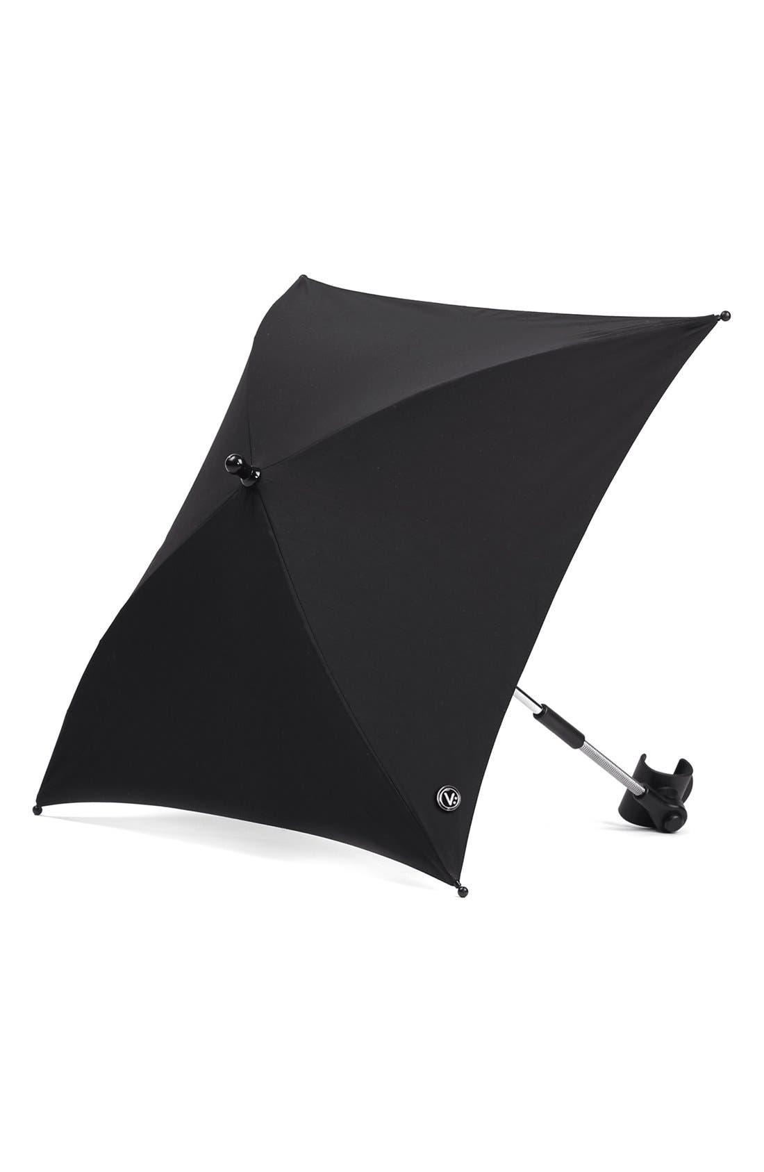 'Igo - Reflect Cosmo Black' Water Resistant Stroller Umbrella,                         Main,                         color, Black