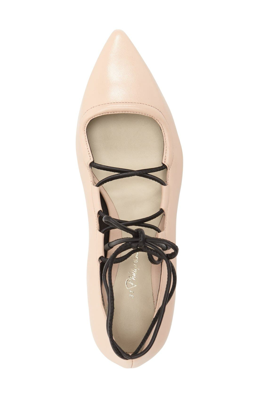 Alternate Image 3  - 3.1 Phillip Lim 'Martini' Lace-Up Flat (Women)