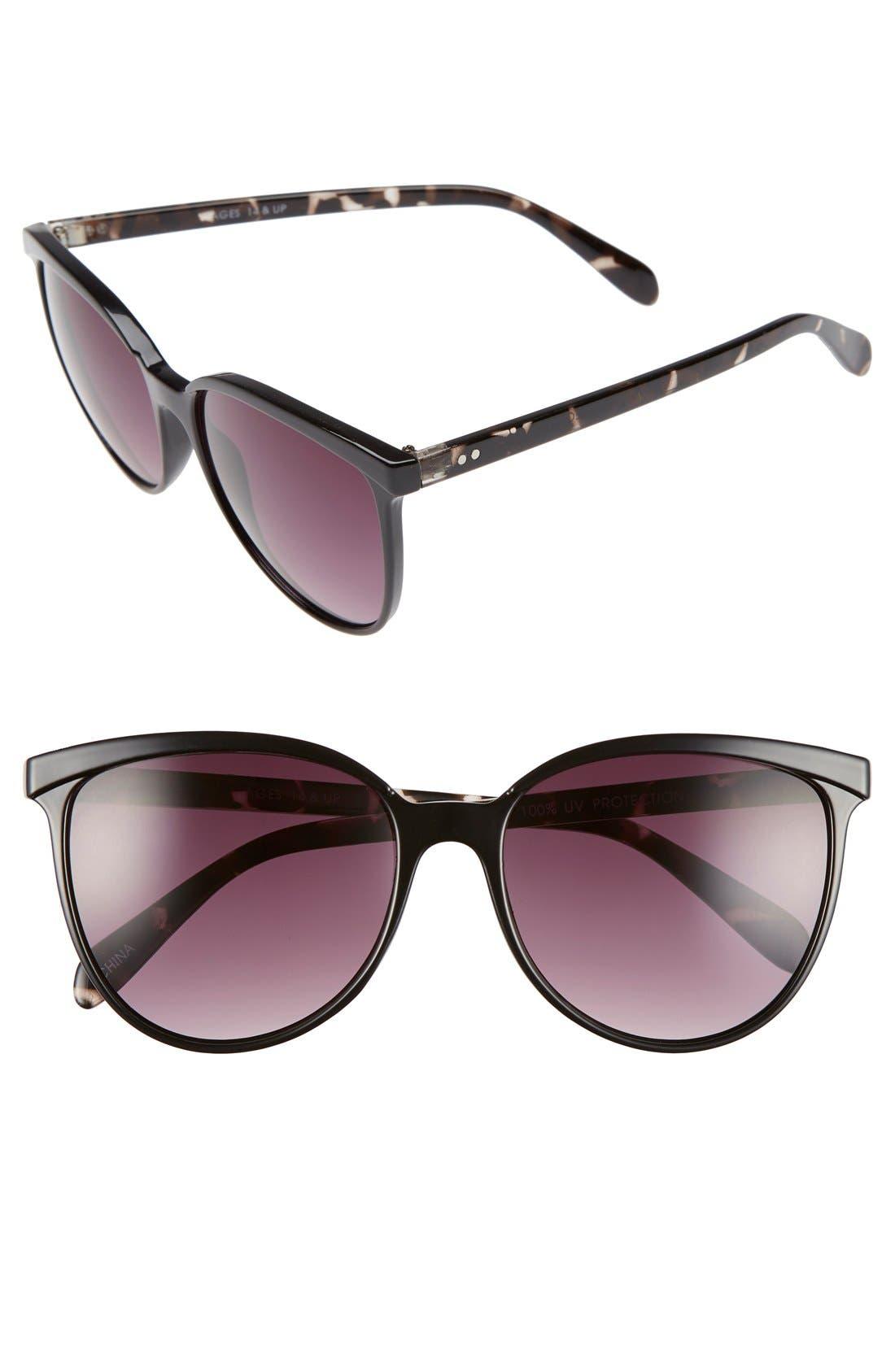 Main Image - BP. 56mm Two-Tone Cat Eye Sunglasses