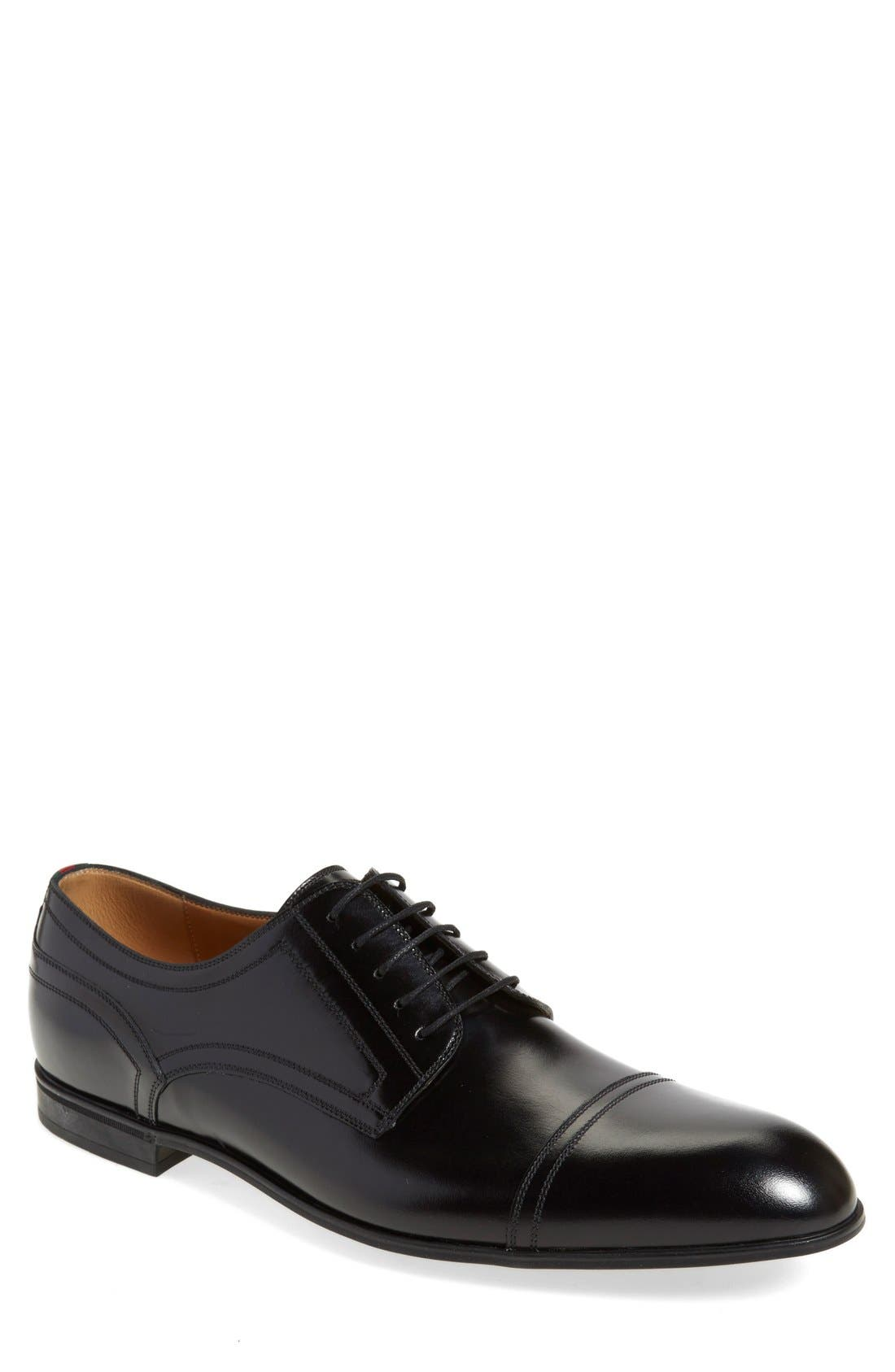 Gucci 'Ravello' Cap Toe Derby (Men)