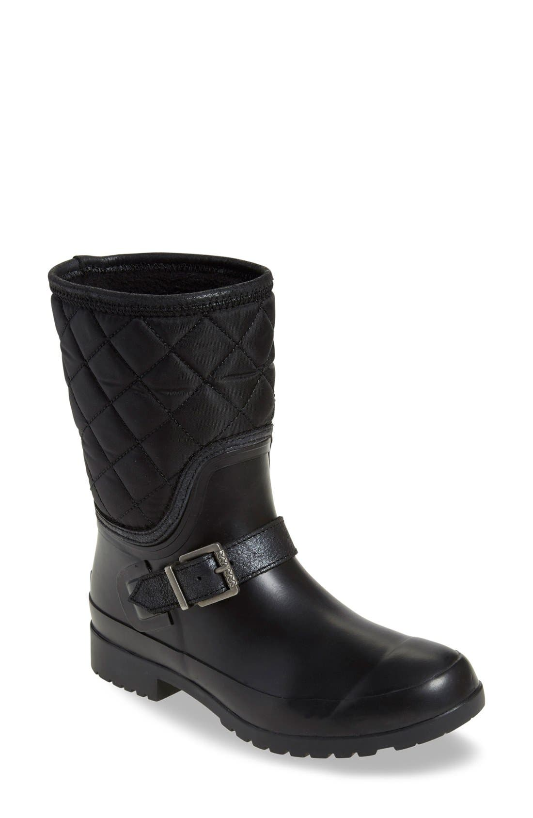 Alternate Image 1 Selected - Sperry Walker Gray Nylon Quilt Boot (Women)