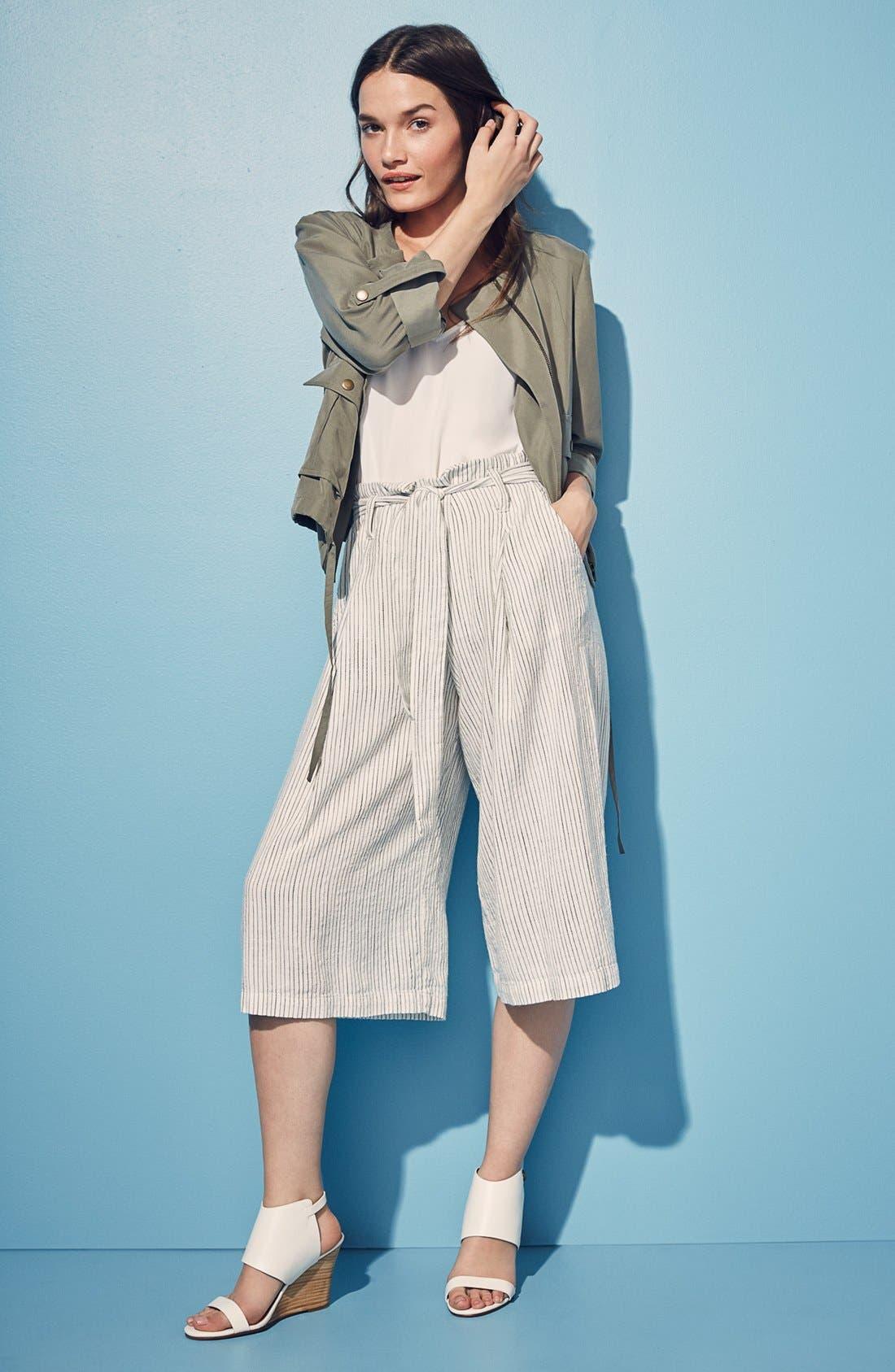 Alternate Image 12  - Halogen® 'Clarette' Wedge Sandal (Women)