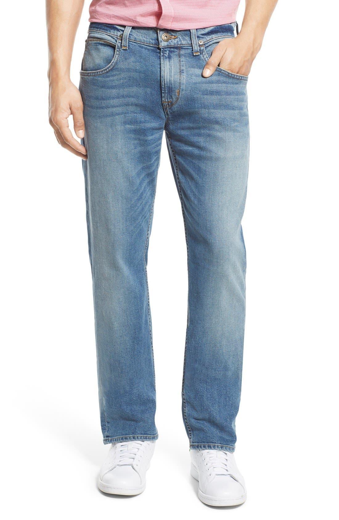 Byron Slim Straight Leg Jeans,                             Main thumbnail 1, color,                             Adversary