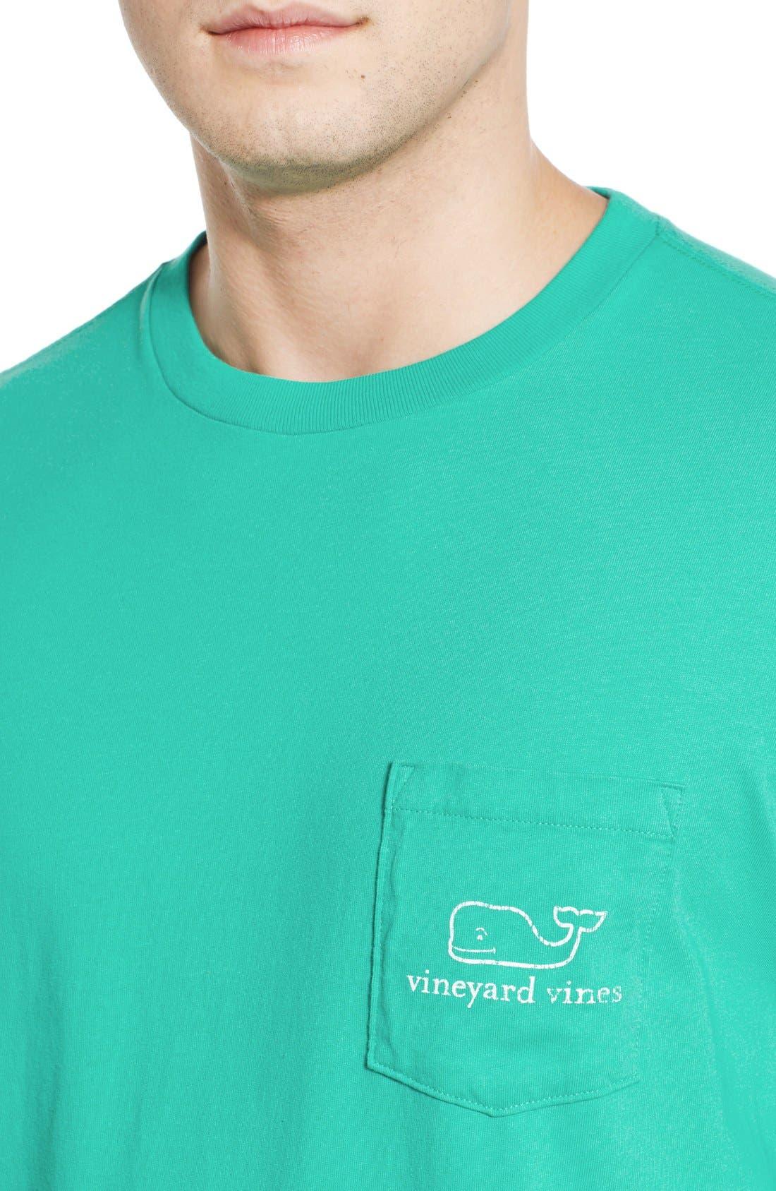 Alternate Image 4  - vineyard vines Pocket Long Sleeve T-Shirt