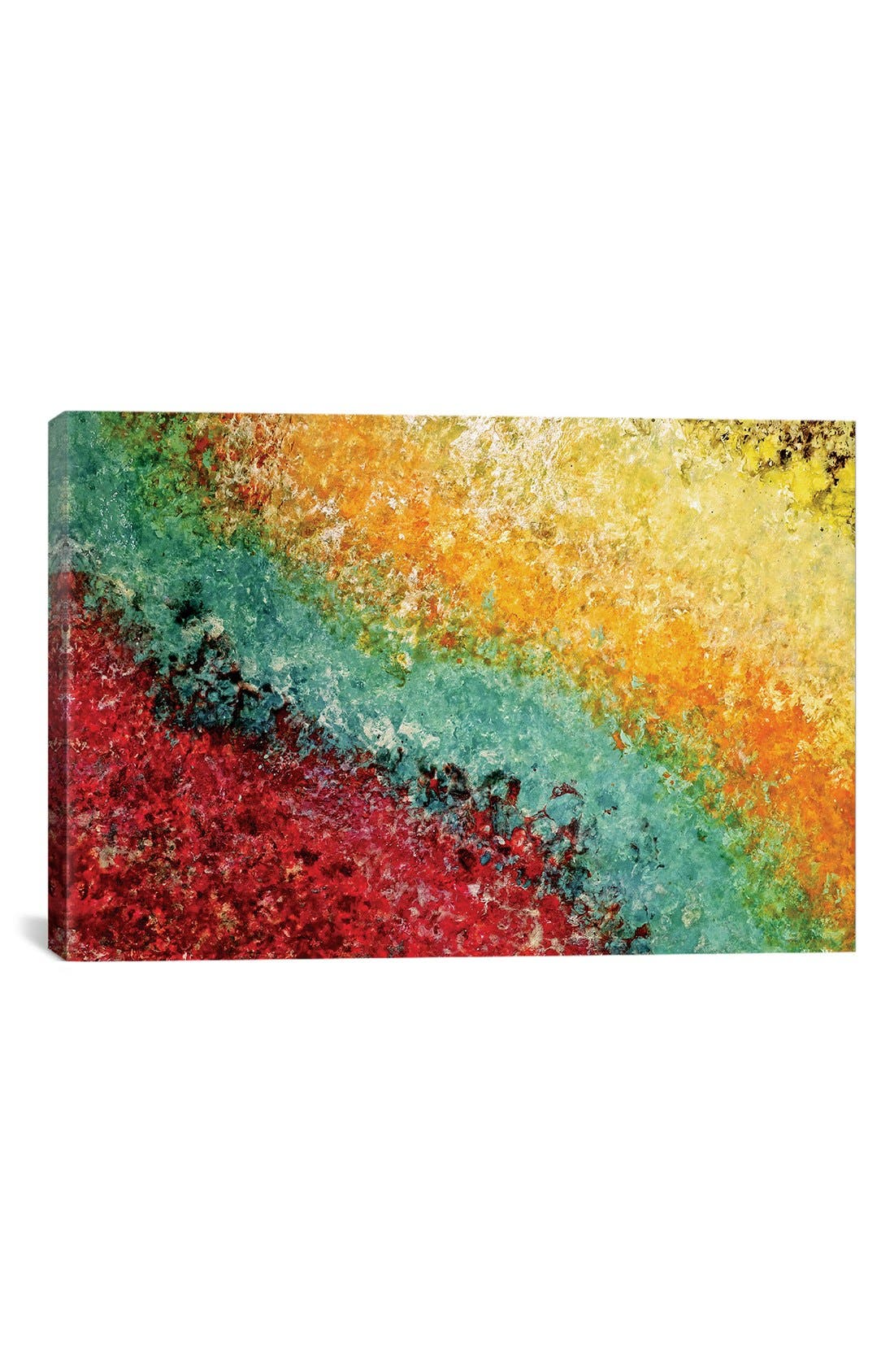 'Enchanted Lullaby' Giclée Print Canvas Art,                             Main thumbnail 1, color,                             Yellow