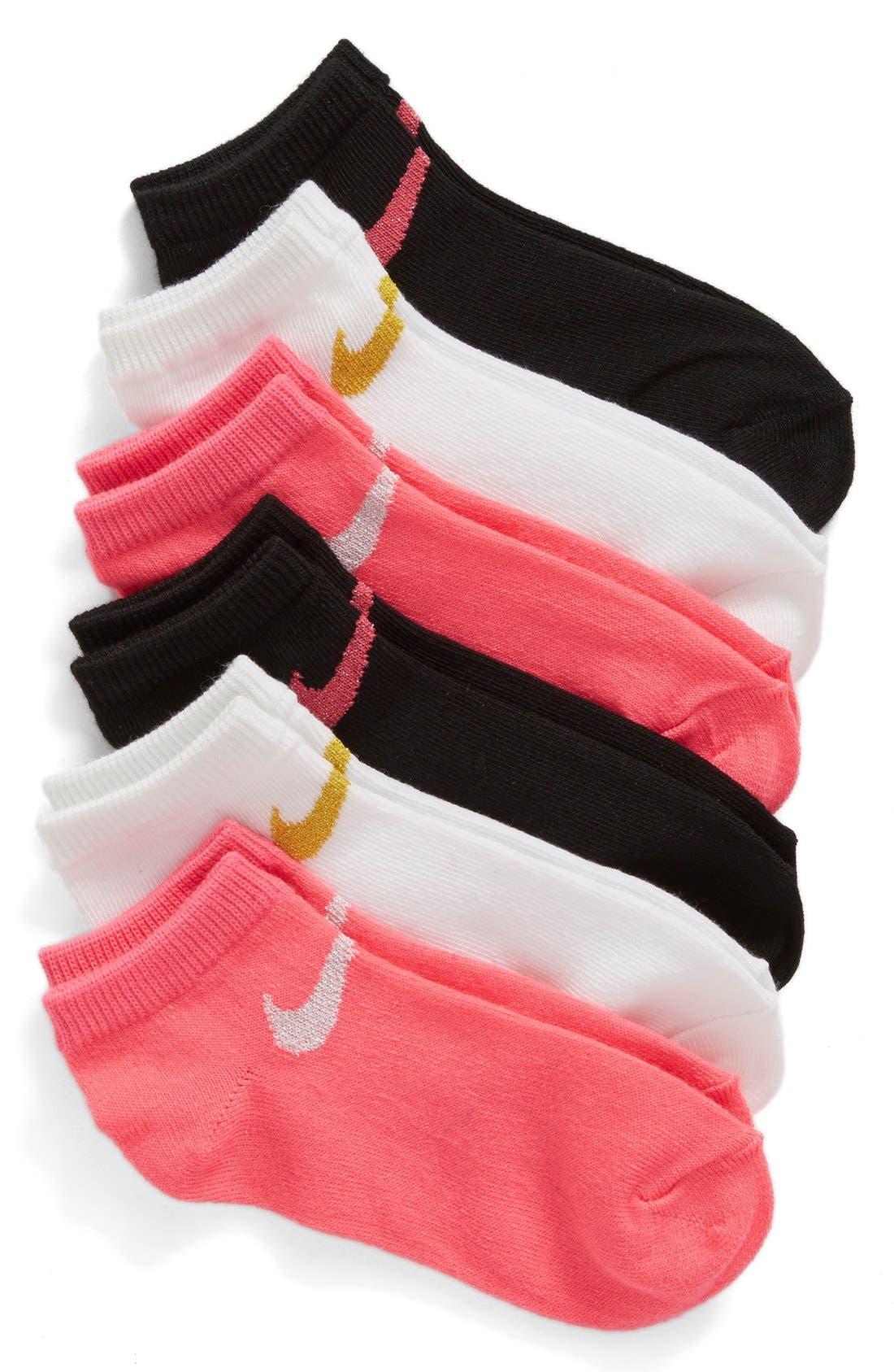 Nike 6-Pack Low Cut Performance Socks (Toddler & Little Kid)
