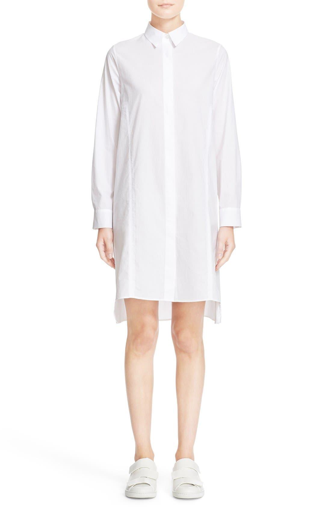 Alternate Image 1 Selected - ACNE Studios 'Rosamund' Piqué Shirtdress