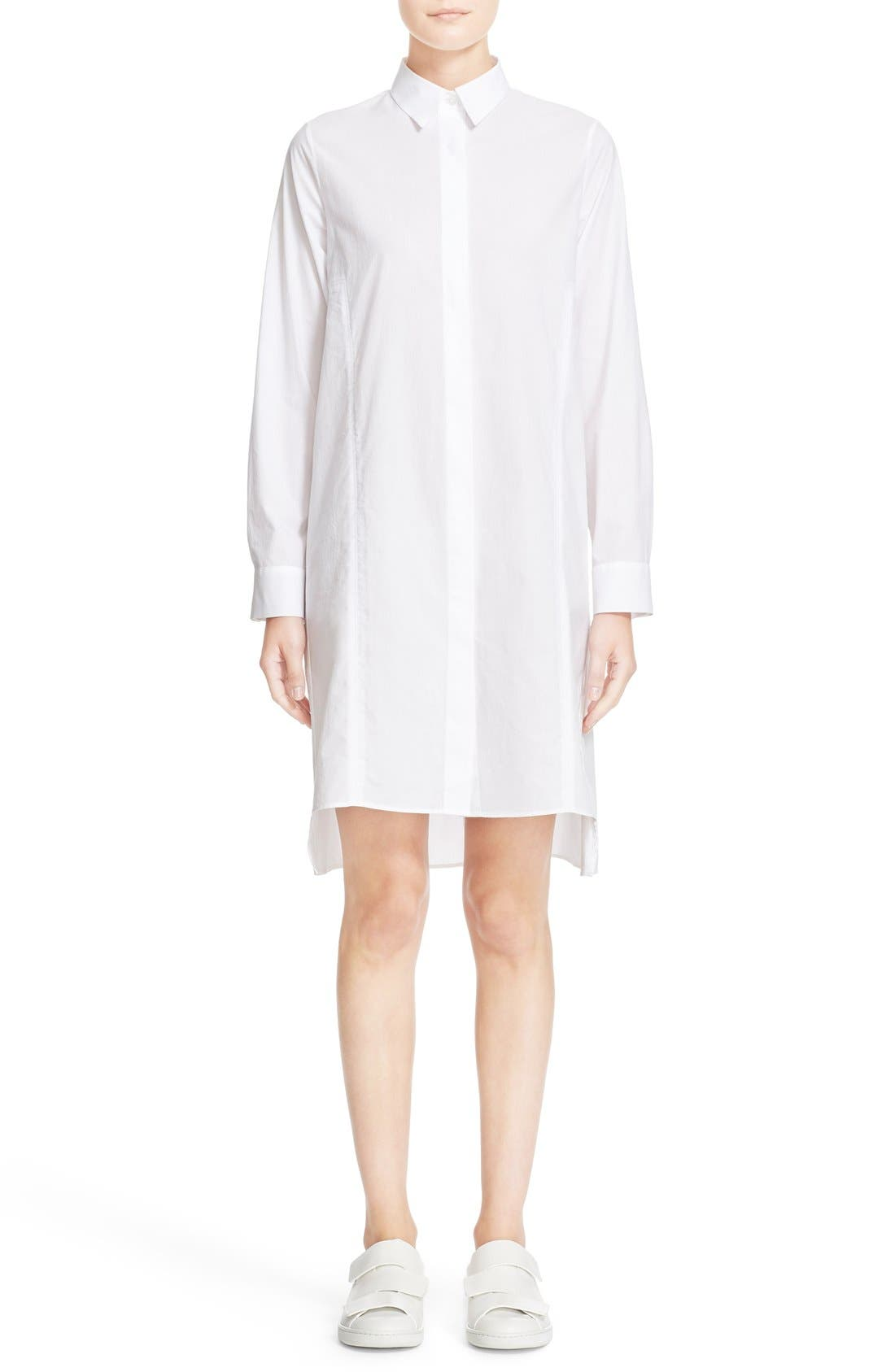 Main Image - ACNE Studios 'Rosamund' Piqué Shirtdress