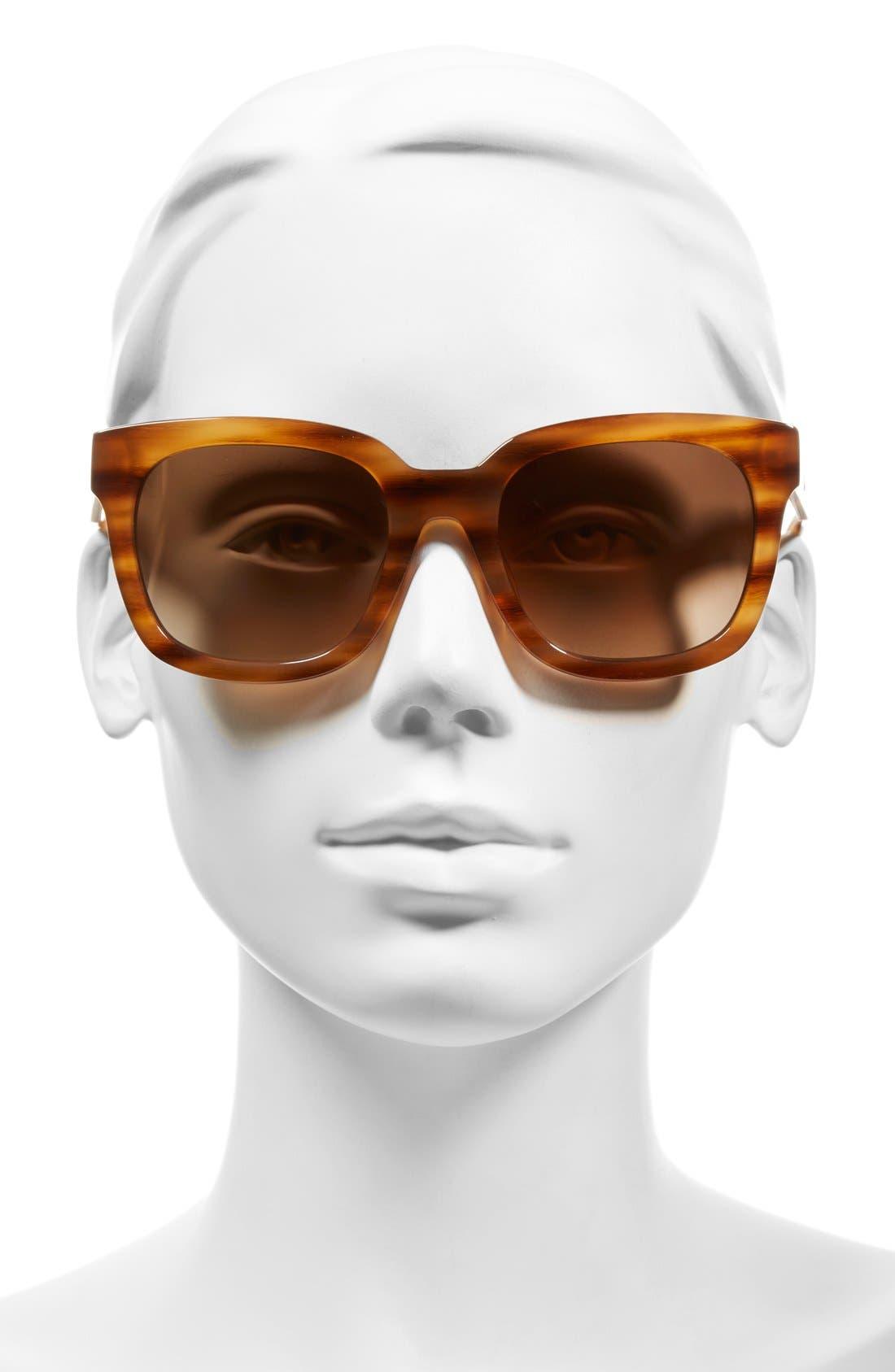 Alternate Image 2  - MCM 54mm Retro Sunglasses