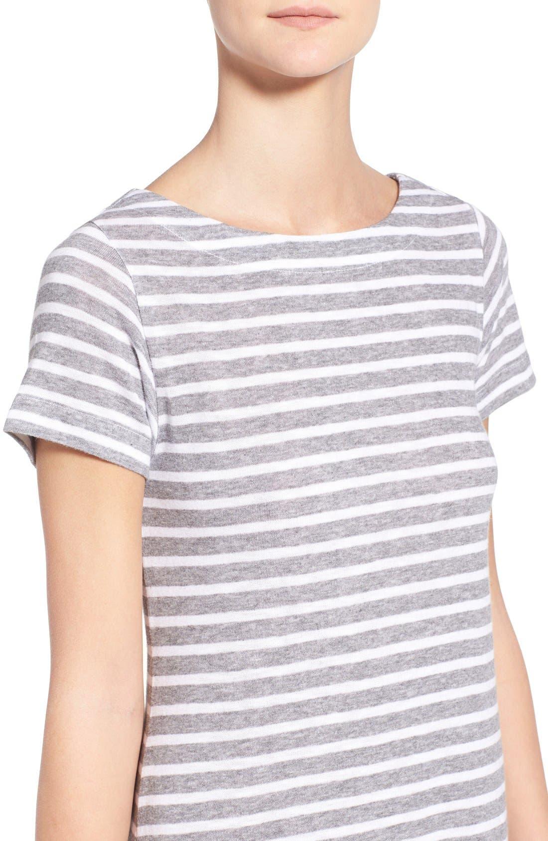 Alternate Image 4  - Vineyard Vines Stripe T-Shirt Dress