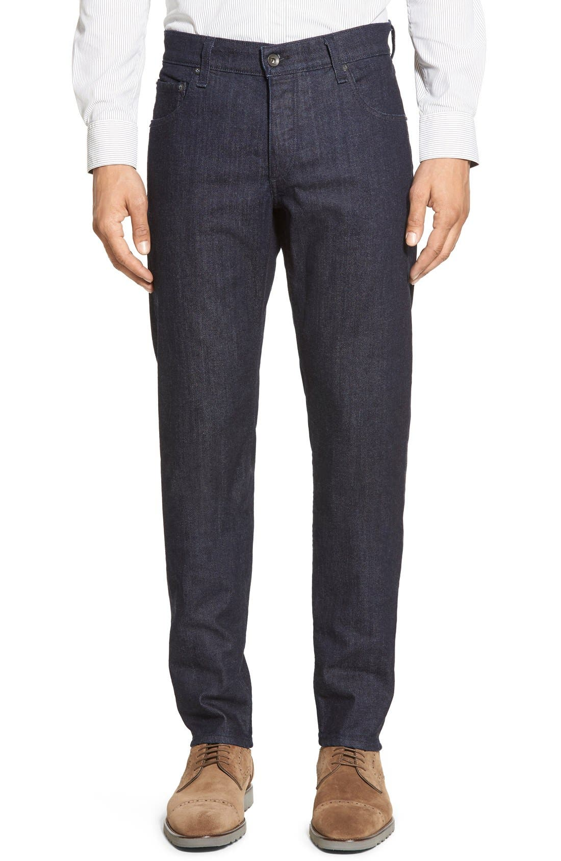 Alternate Image 1 Selected - rag & bone Standard Issue Fit 2 Slim Fit Jeans (Tonal Rinse)