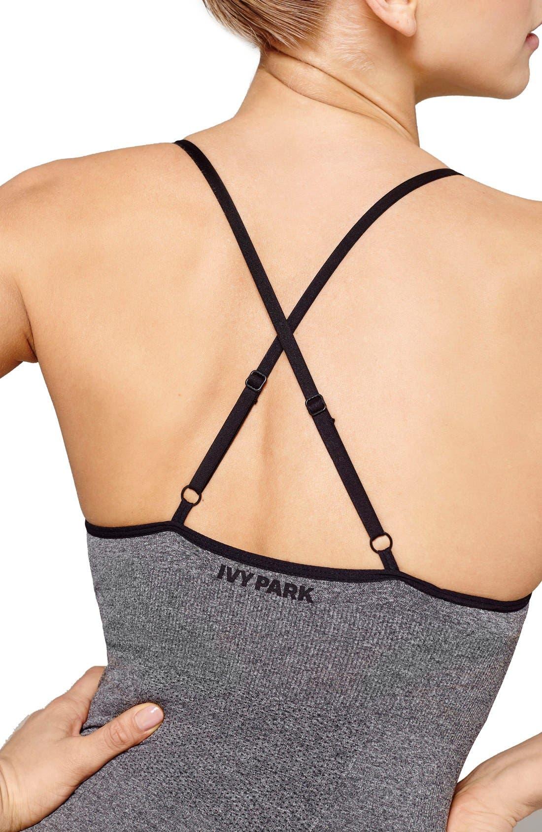 Alternate Image 3  - IVY PARK® Seamless Strappy Bodysuit