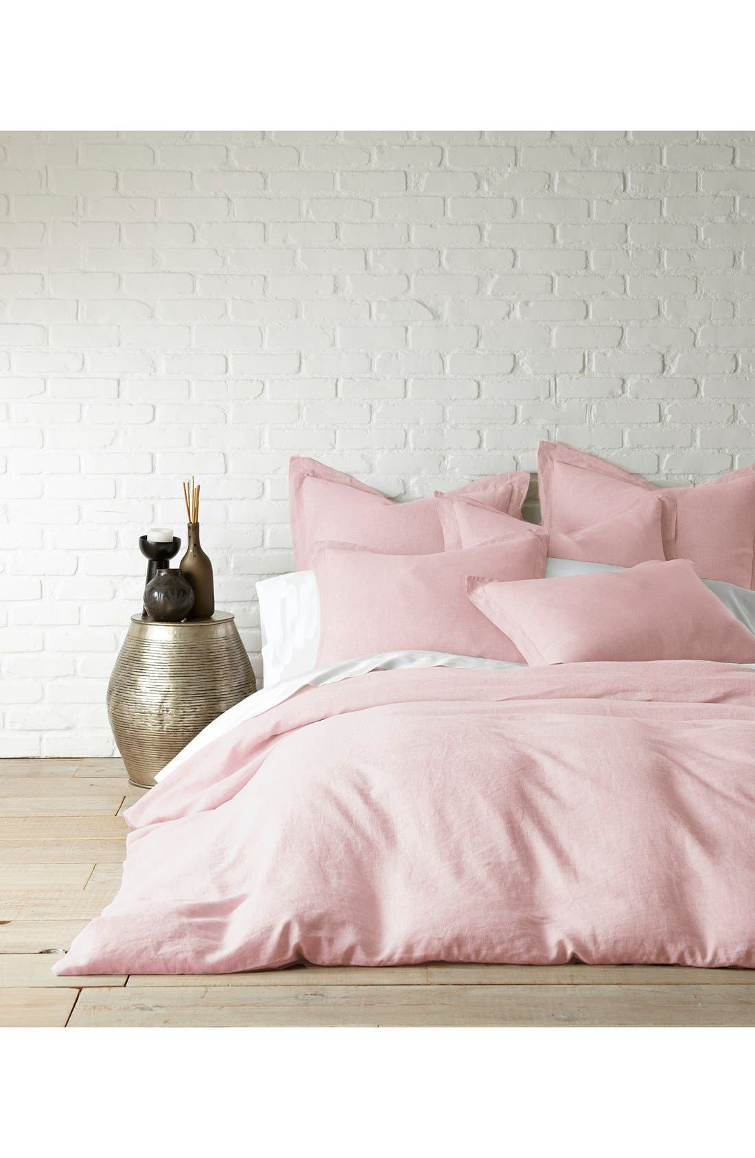 Main Image - Levtex Washed Linen Duvet Cover