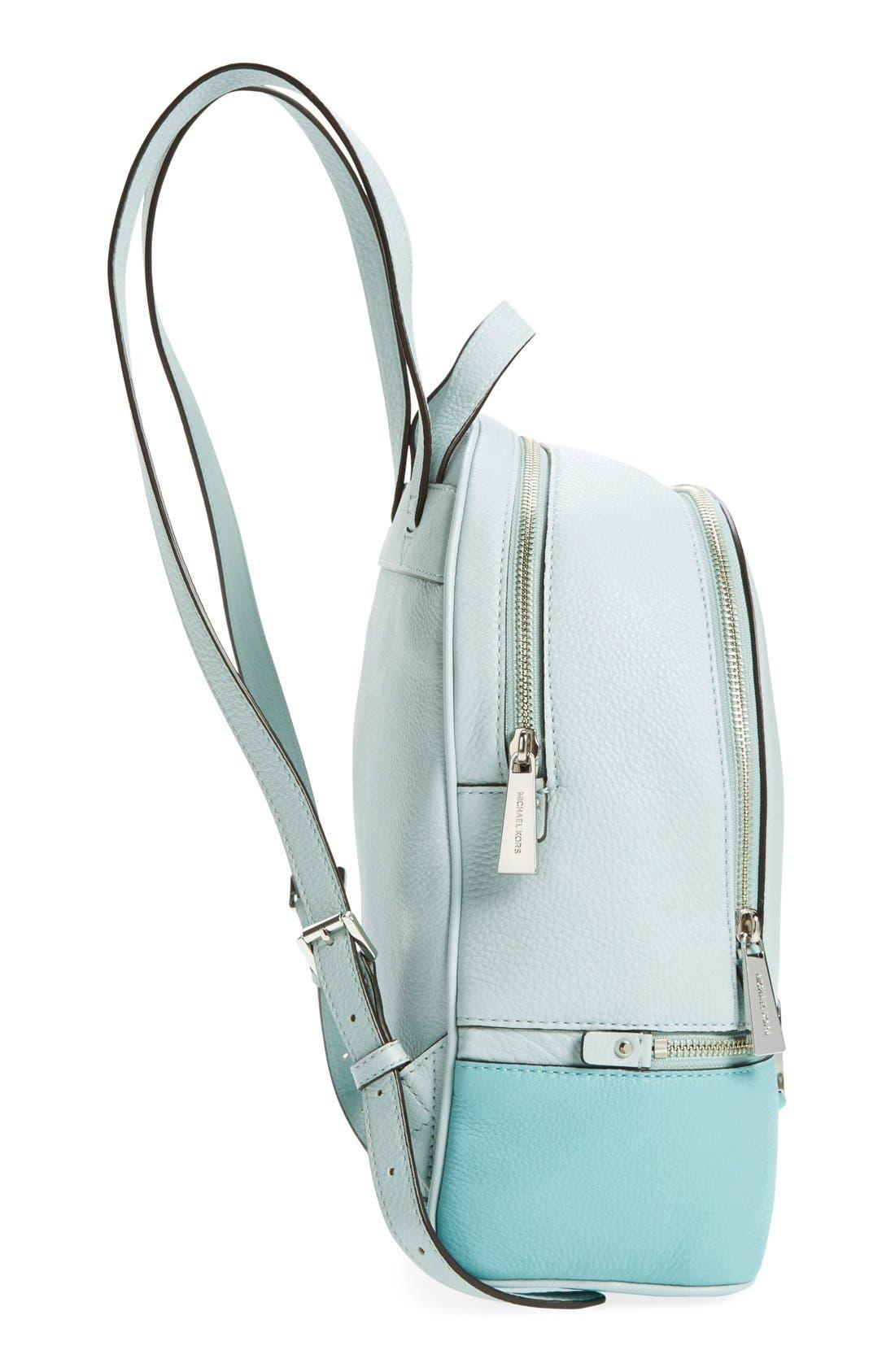 Alternate Image 5  - MICHAEL Michael Kors 'Small Rhea' Leather Backpack