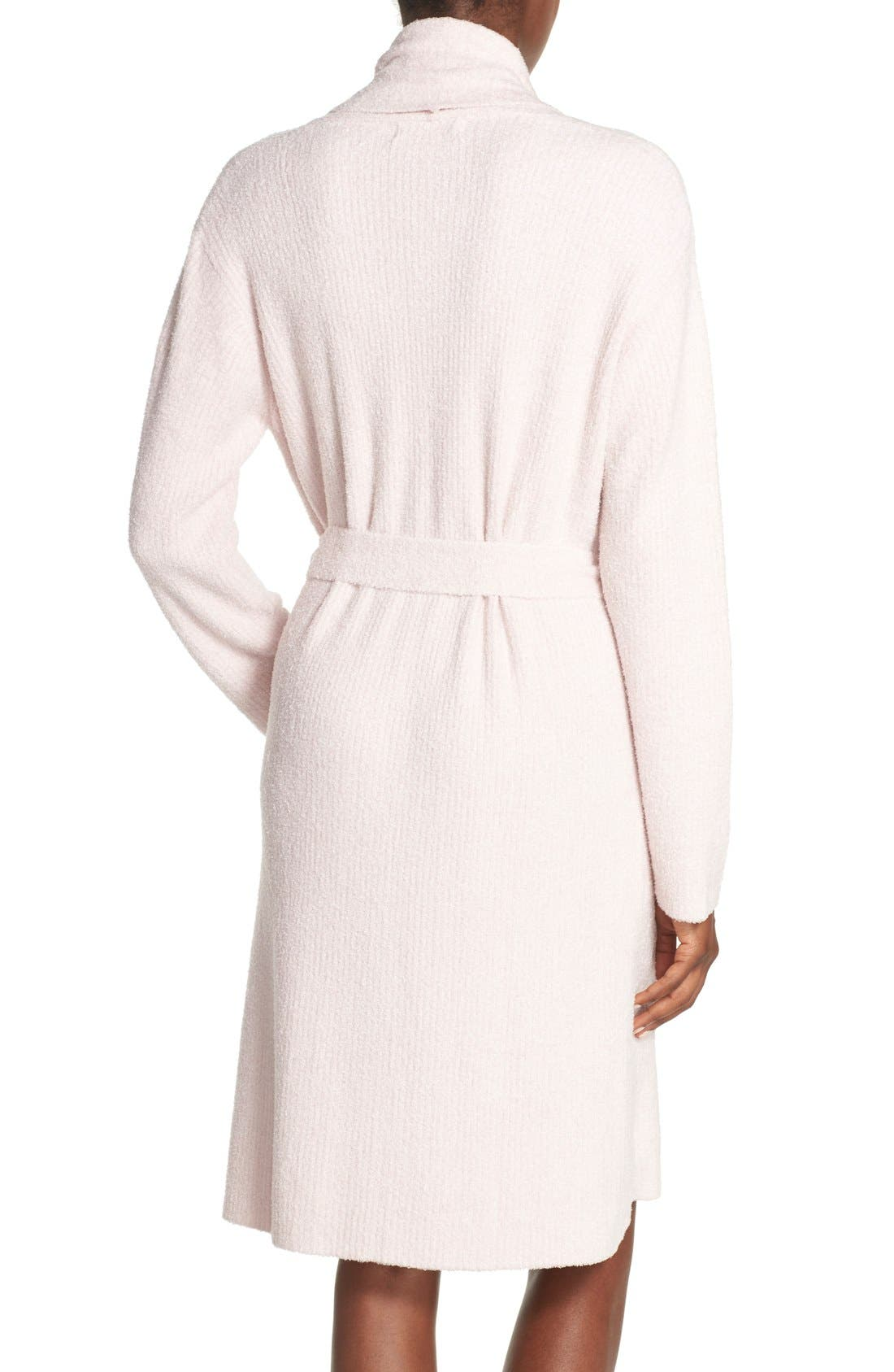 Alternate Image 2  - Barefoot Dreams CozyChic Lite® Short Robe