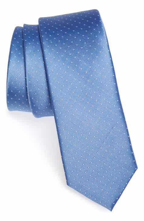 Mens ties skinny ties pocket squares for men nordstrom the tie bar dot silk tie ccuart Images