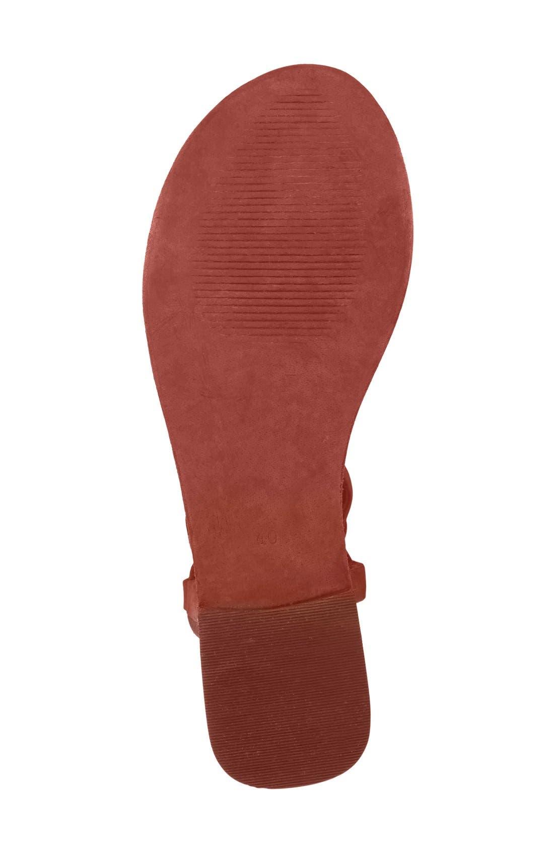 Alternate Image 4  - Free People 'Dahlia' Tall Gladiator Sandal (Women)