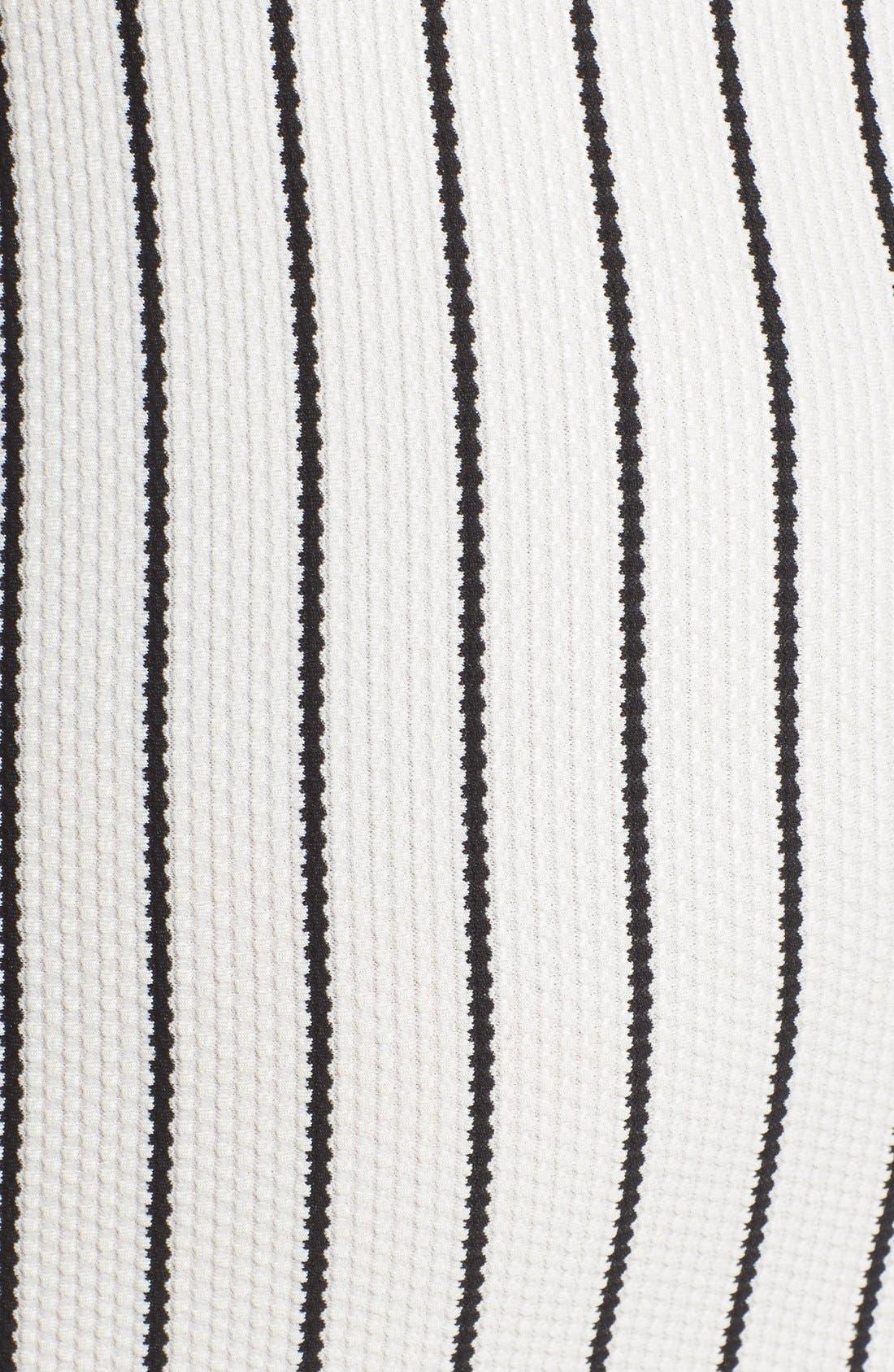 Alternate Image 5  - Lush Clothing Stripe Body-Con Dress