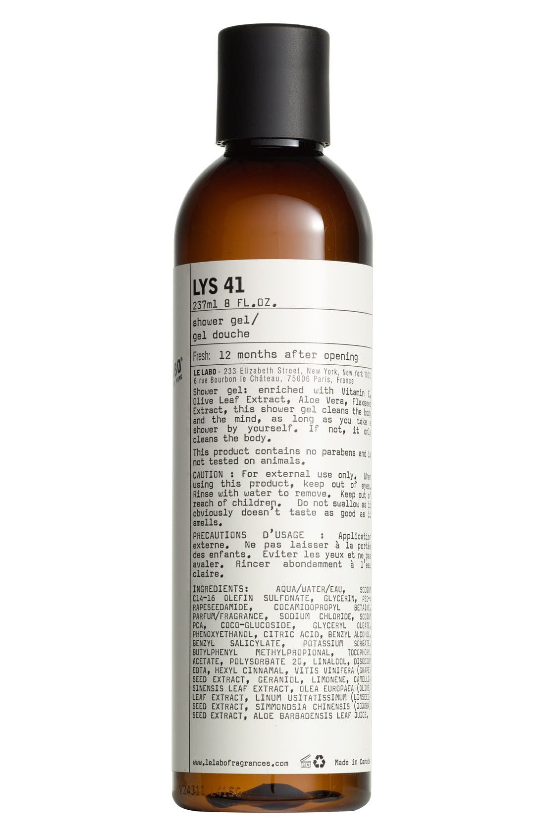 Le Labo 'Lys 41' Shower Gel