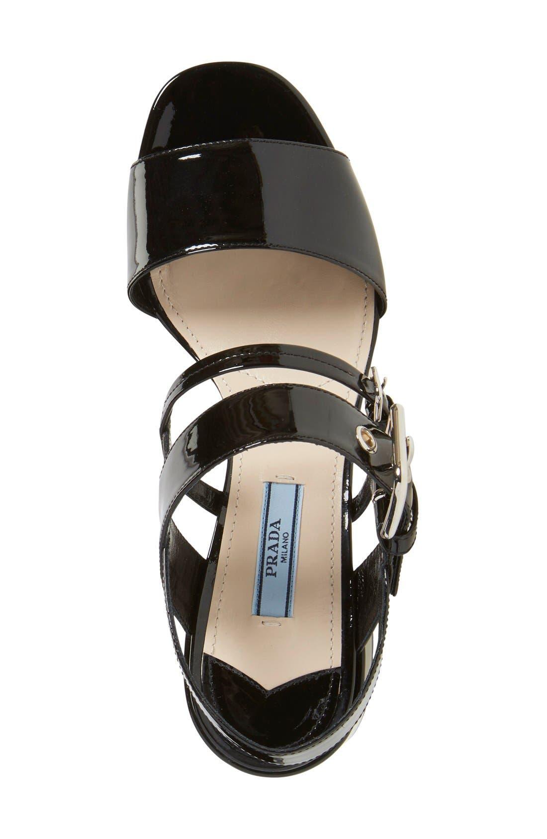 Alternate Image 3  - Prada Block Heel Sandal (Women)