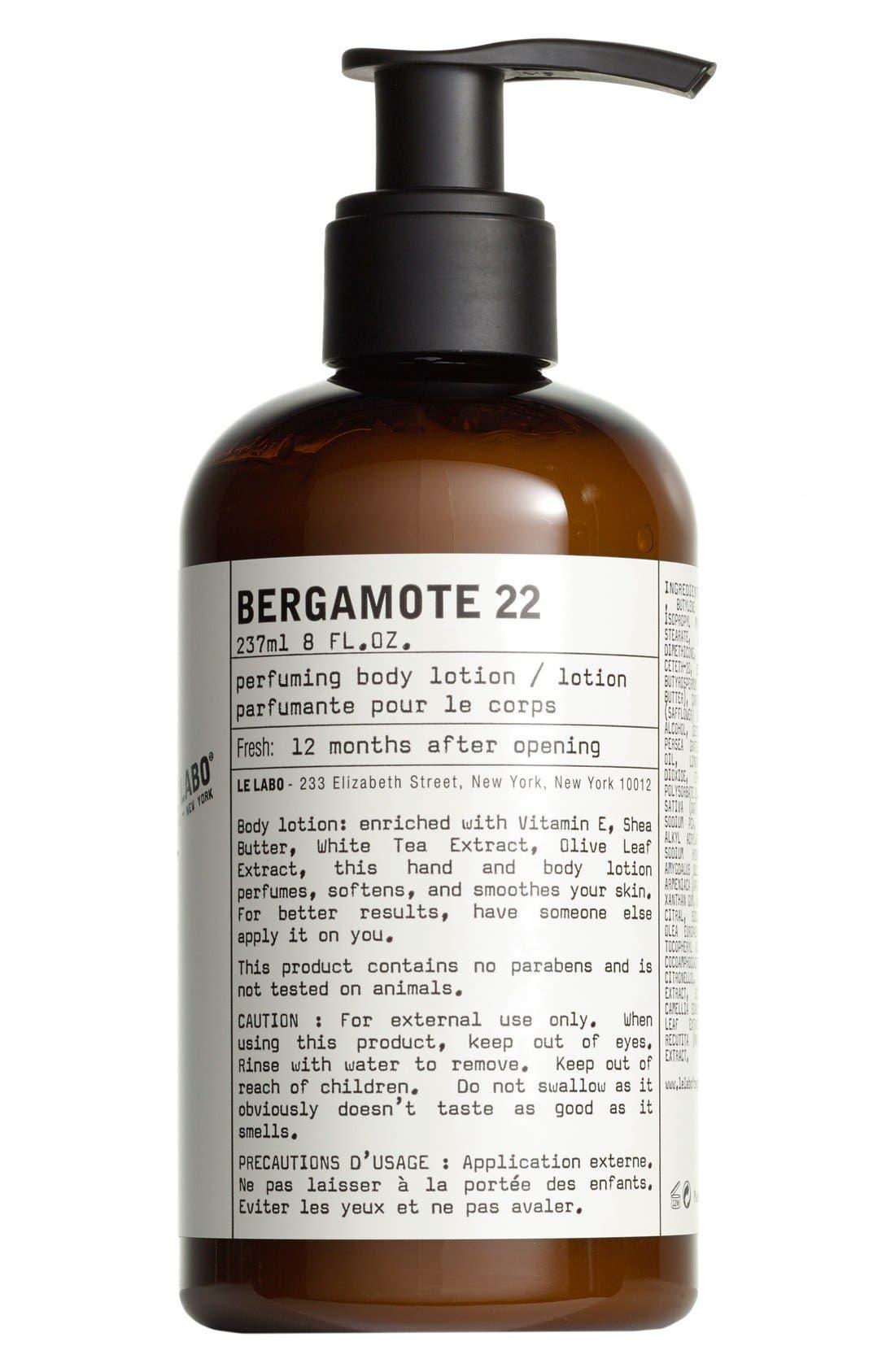 Le Labo 'Bergamote 22' Hand & Body Lotion