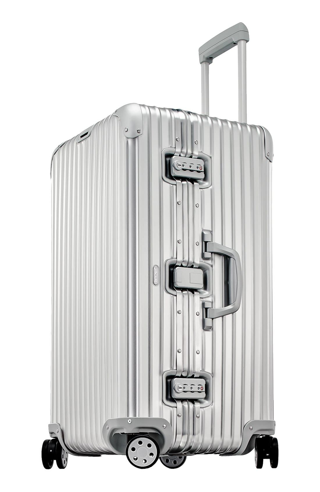 Topas 28-Inch Sport Multiwheel<sup>®</sup> Aluminum Packing Case,                             Alternate thumbnail 3, color,                             Silver