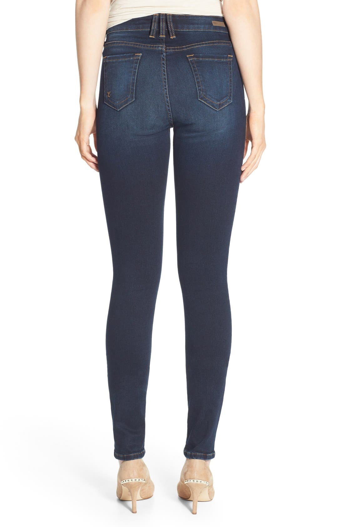 Alternate Image 2  - KUT from the Kloth 'Diana' Stretch Skinny Jeans (Brisk)