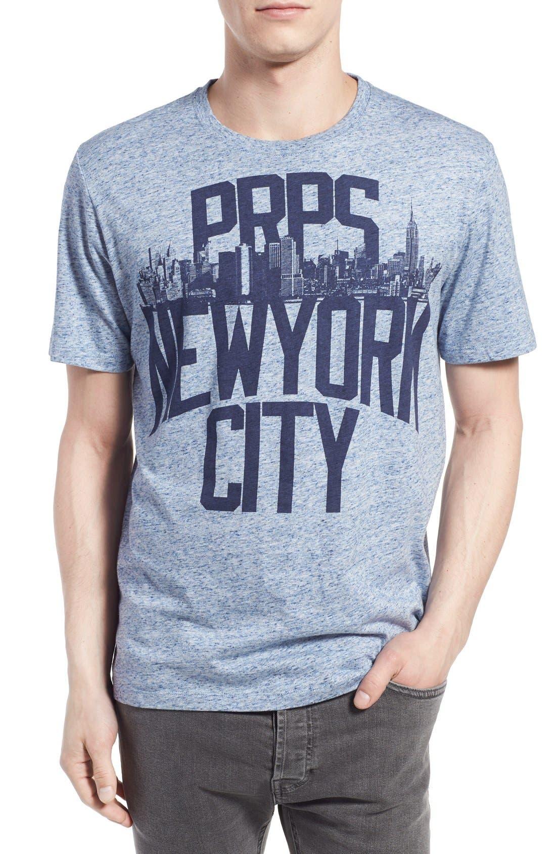 Main Image - PRPS 'Catcher' Trim Fit Crewneck T-Shirt