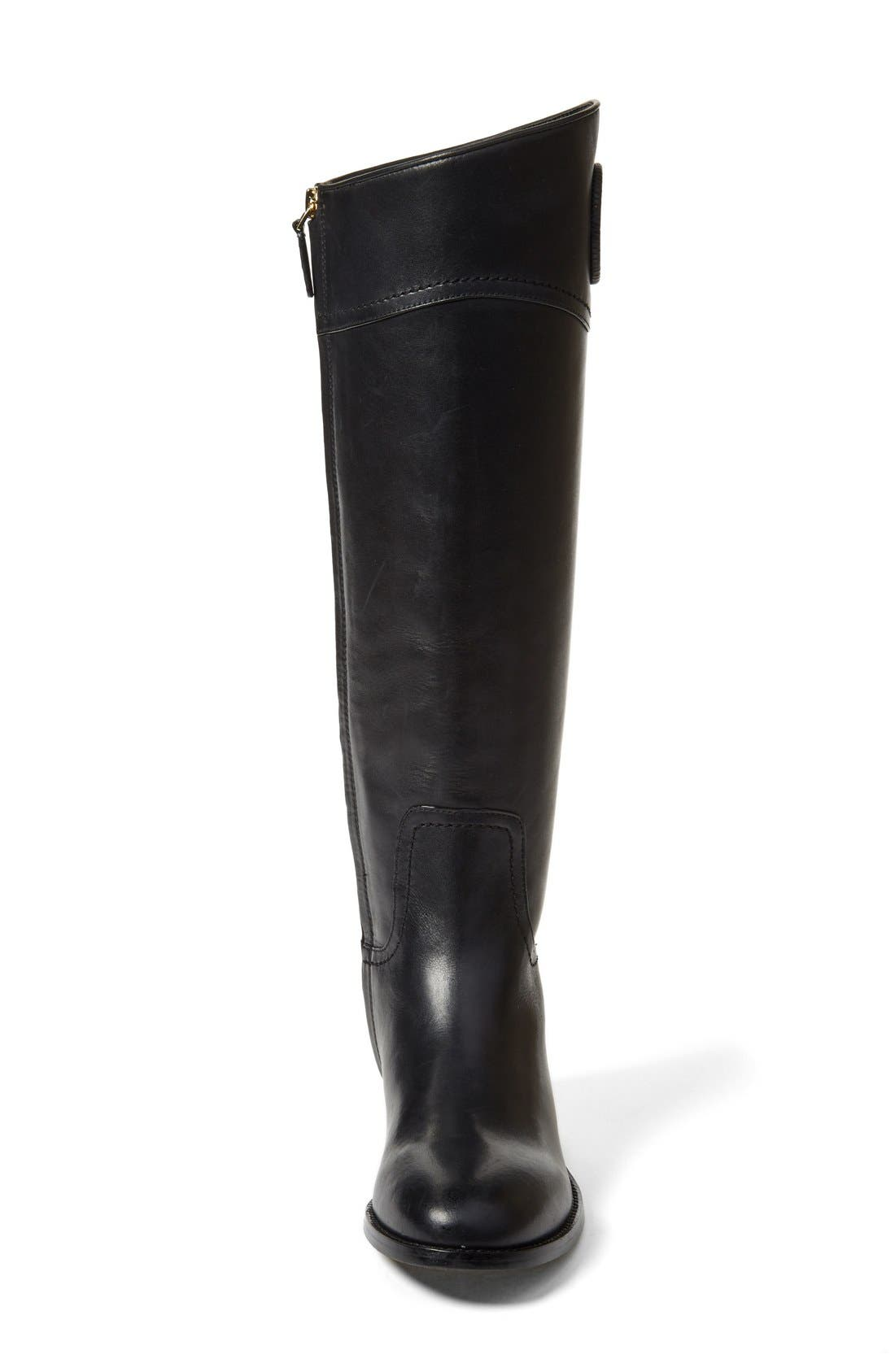 Alternate Image 3  - Tory Burch 'Ashlynn' Wide Calf Riding Boot (Women)
