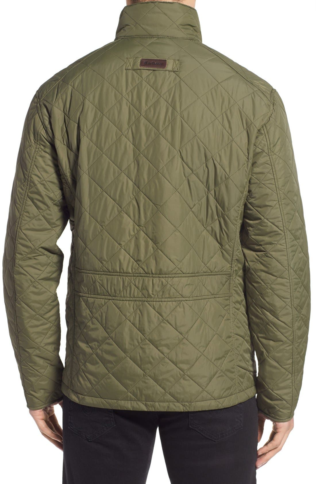 Alternate Image 2  - Barbour 'Explorer' Water-Resistant Quilted Utility Jacket