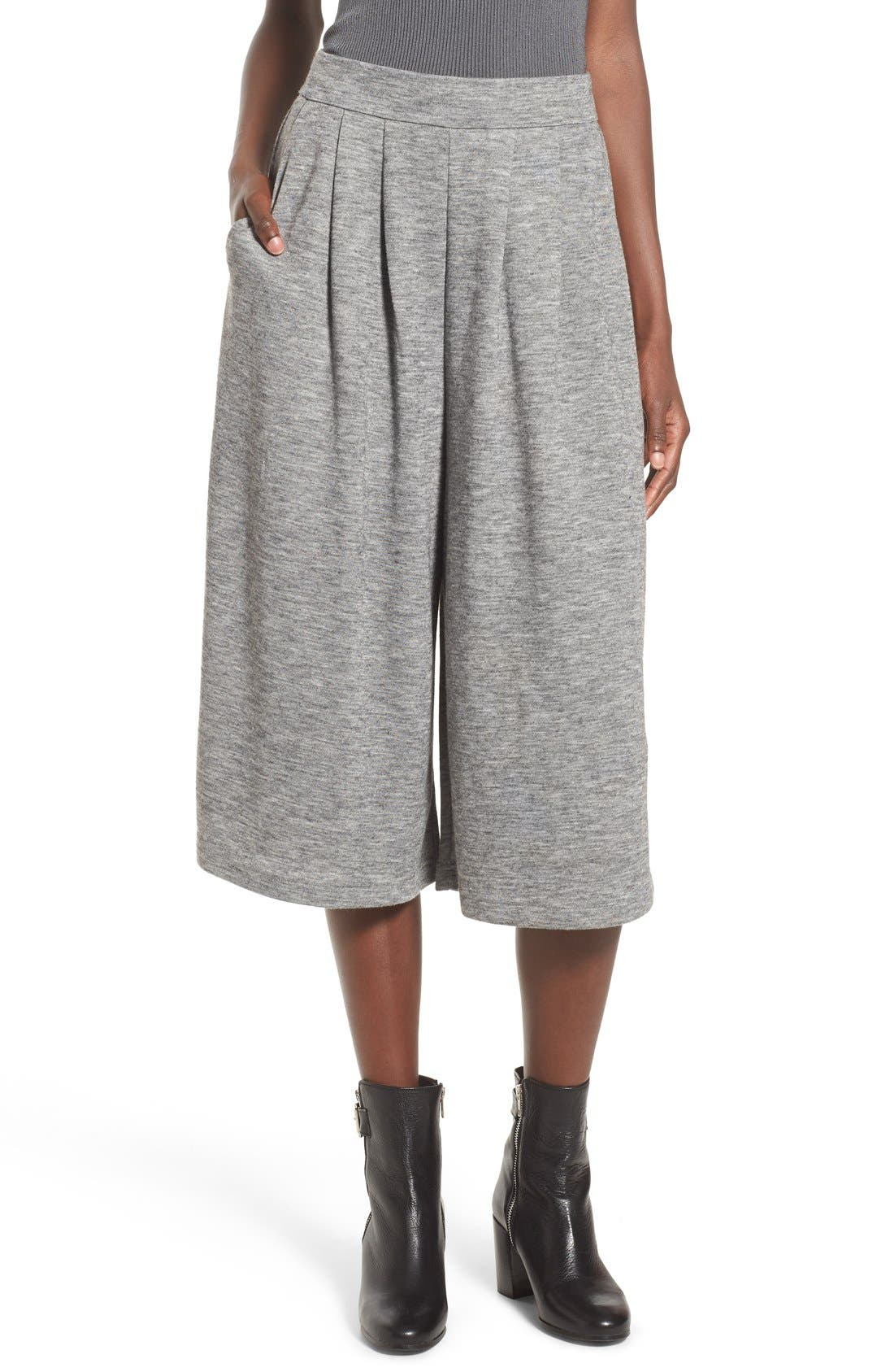 Alternate Image 1 Selected - Leith Knit Crop Pants