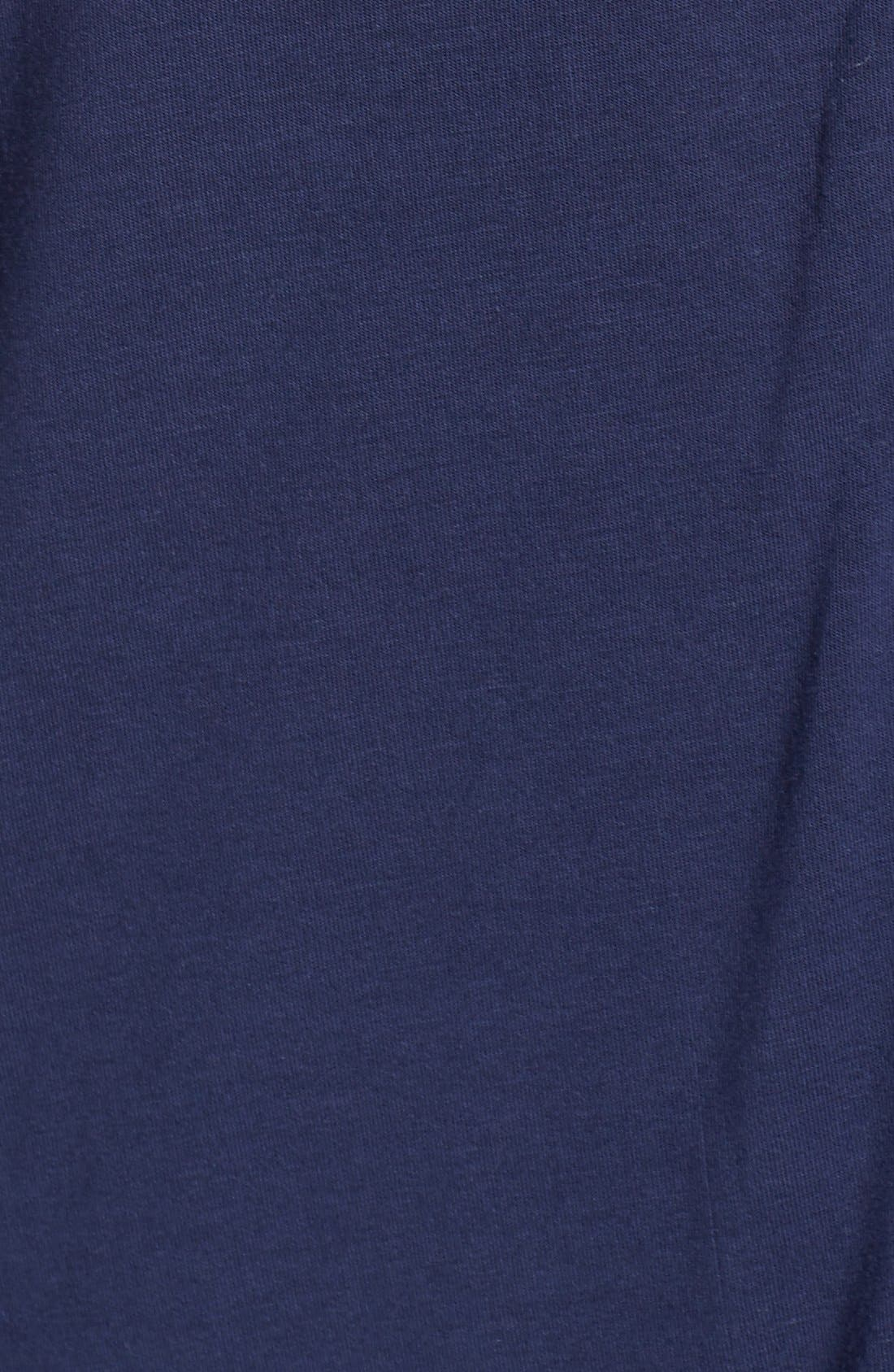 'Moonlight' Pajamas,                             Alternate thumbnail 5, color,                             Navy Peacoat