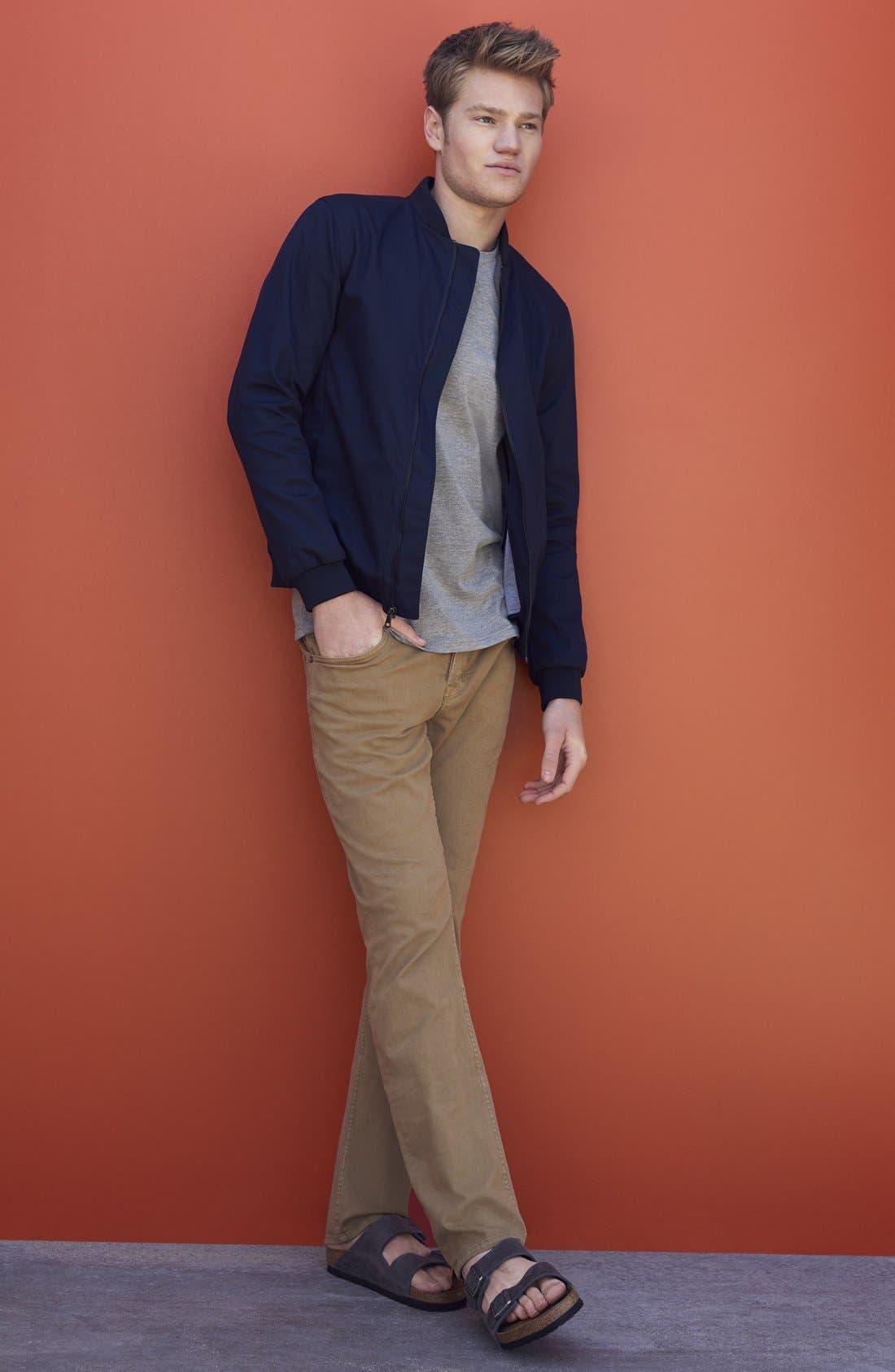 Alternate Image 7  - Hudson Jeans 'Byron' Slim Straight Leg Jeans