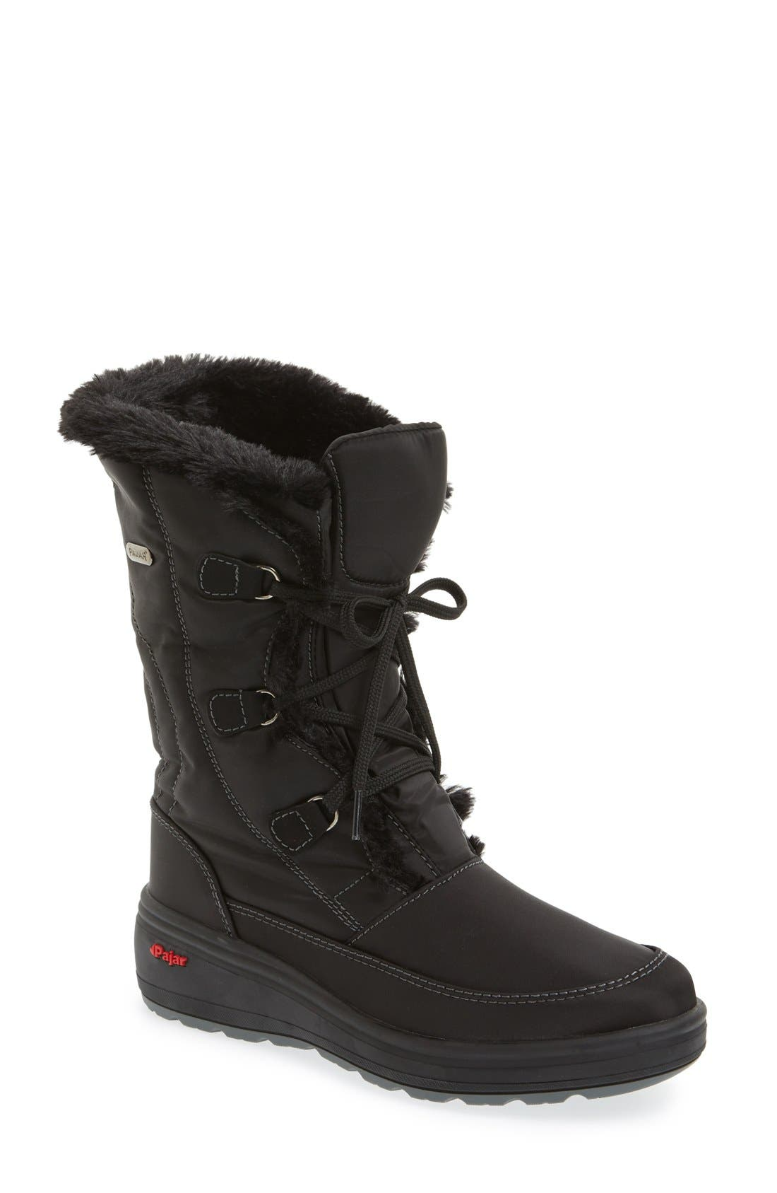 Pajar Women's 'Marcie' Waterproof Snow Boot With Faux Fur Collar clNRNOa