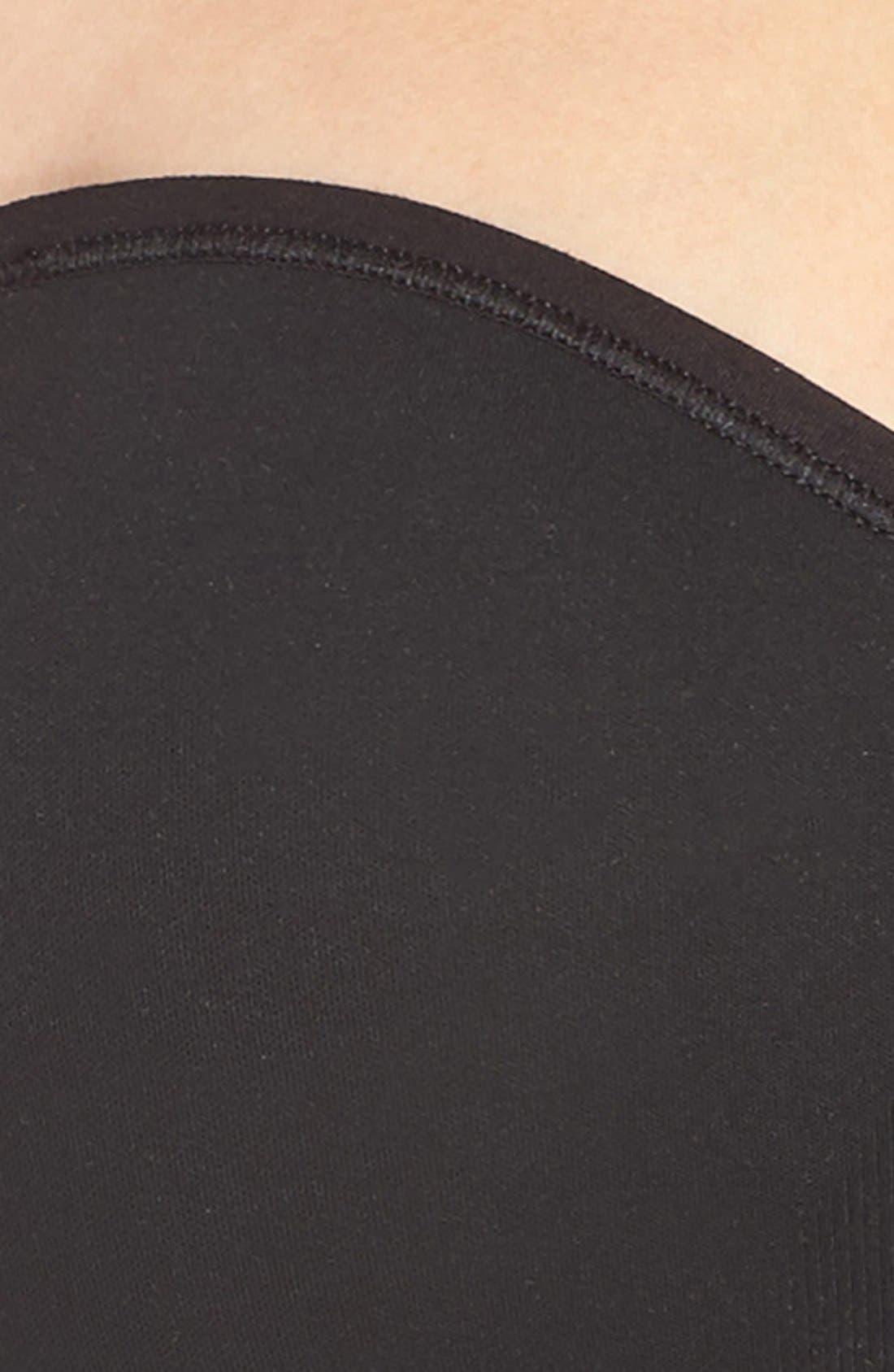 'Peyton' Convertible Wireless Bra,                             Alternate thumbnail 5, color,                             Black