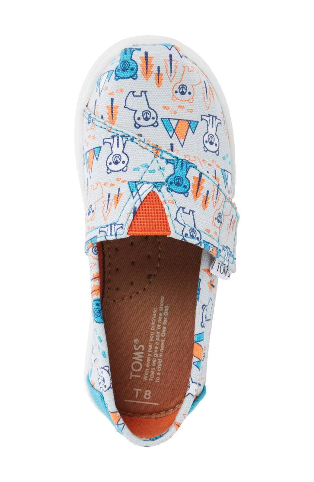 Alternate Image 3  - TOMS 'Classic - Bears' Slip-On (Baby, Walker & Toddler)
