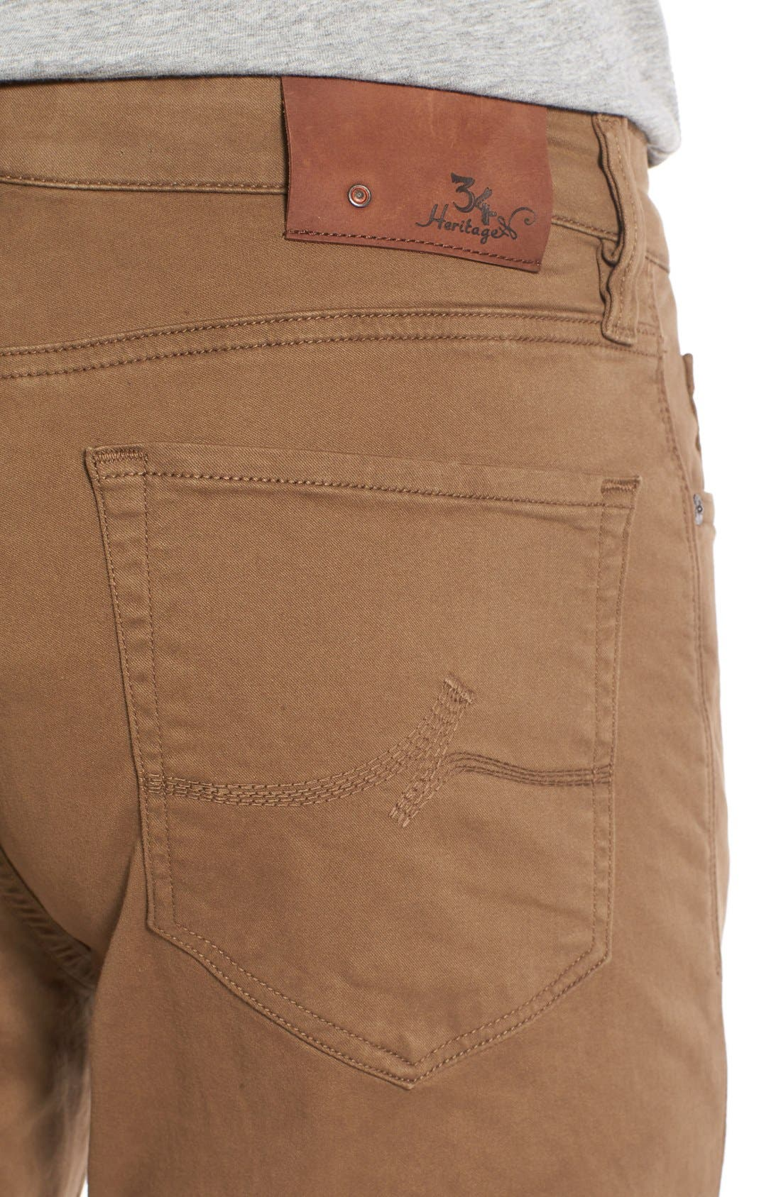 Alternate Image 4  - 34 Heritage 'Charisma' Relaxed Fit Jeans (Tobacco Twill) (Online Only)