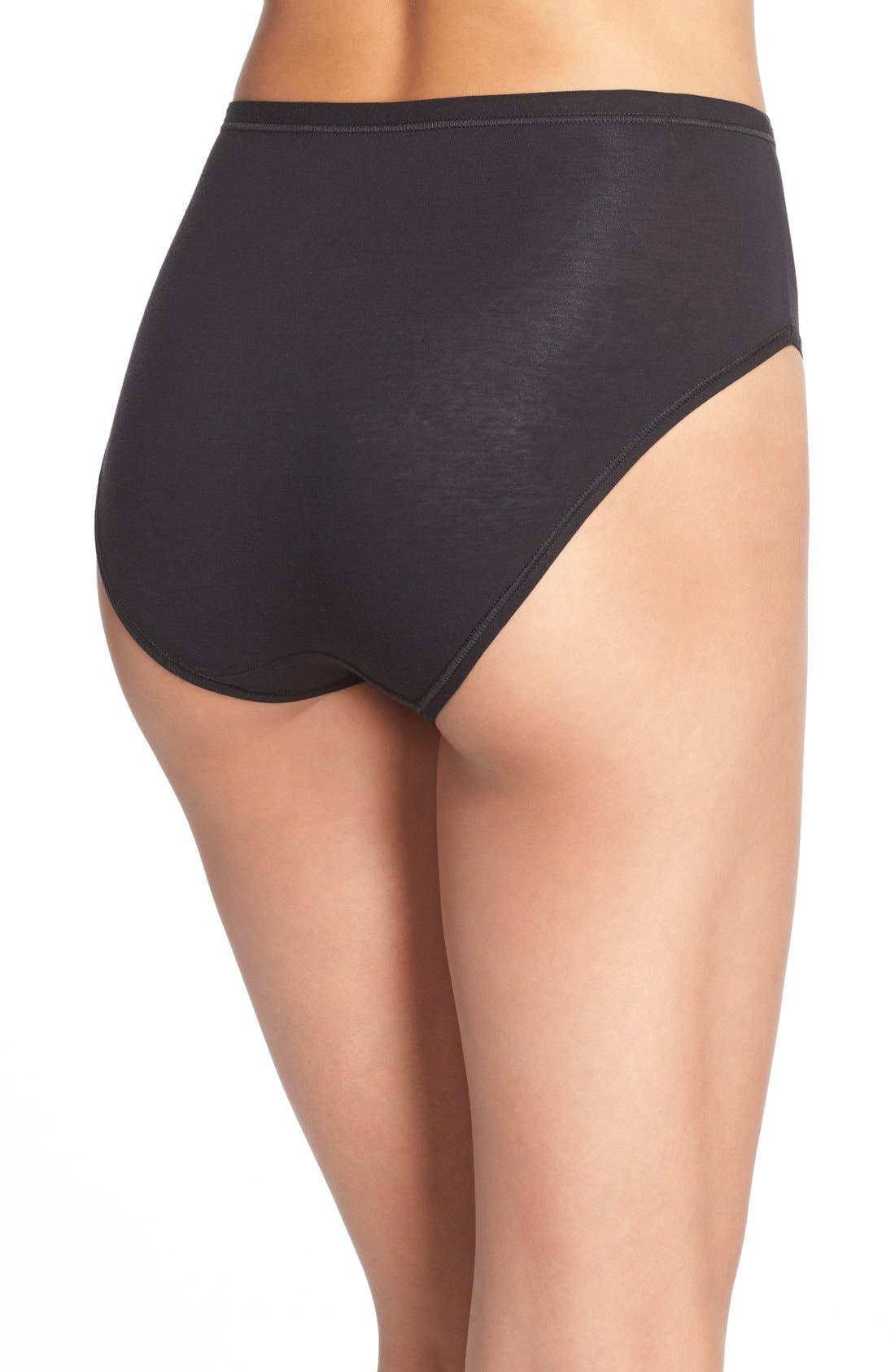 Alternate Image 2  - Wacoal B Fitting High Cut Briefs (3 for $39)