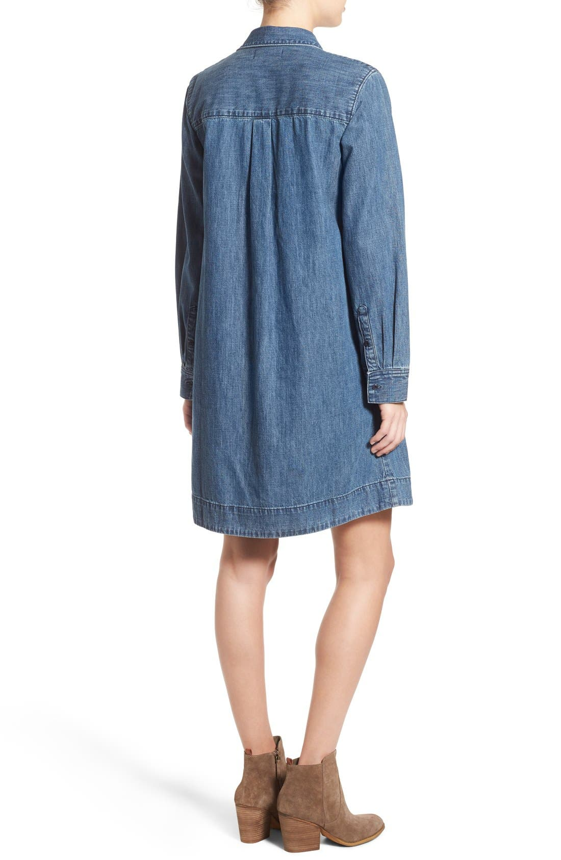 Alternate Image 2  - Madewell Denim Shirtdress