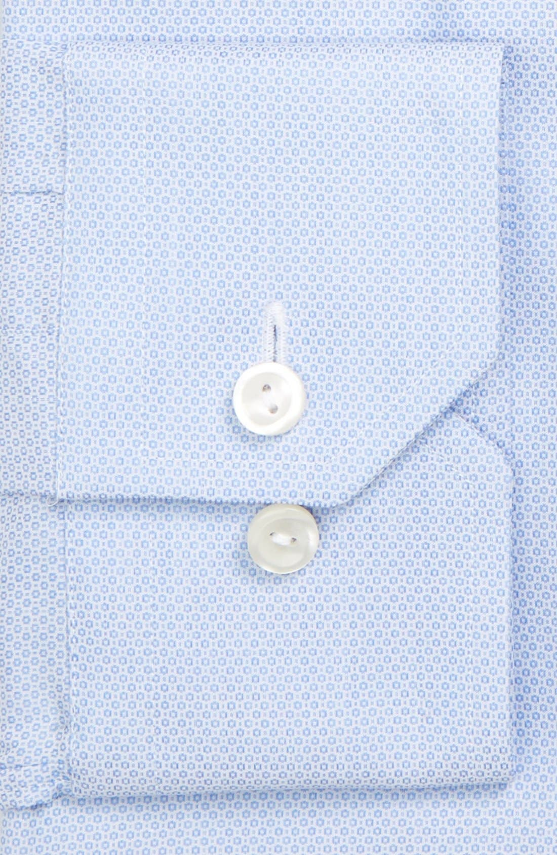 Alternate Image 2  - Eton Slim Fit Dot Dress Shirt