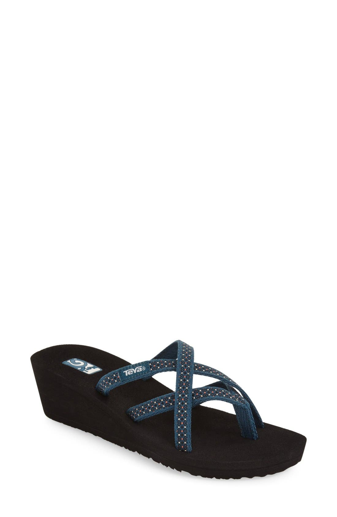 Alternate Image 1 Selected - Teva 'Mandalyn' Wedge Sandal (Women)