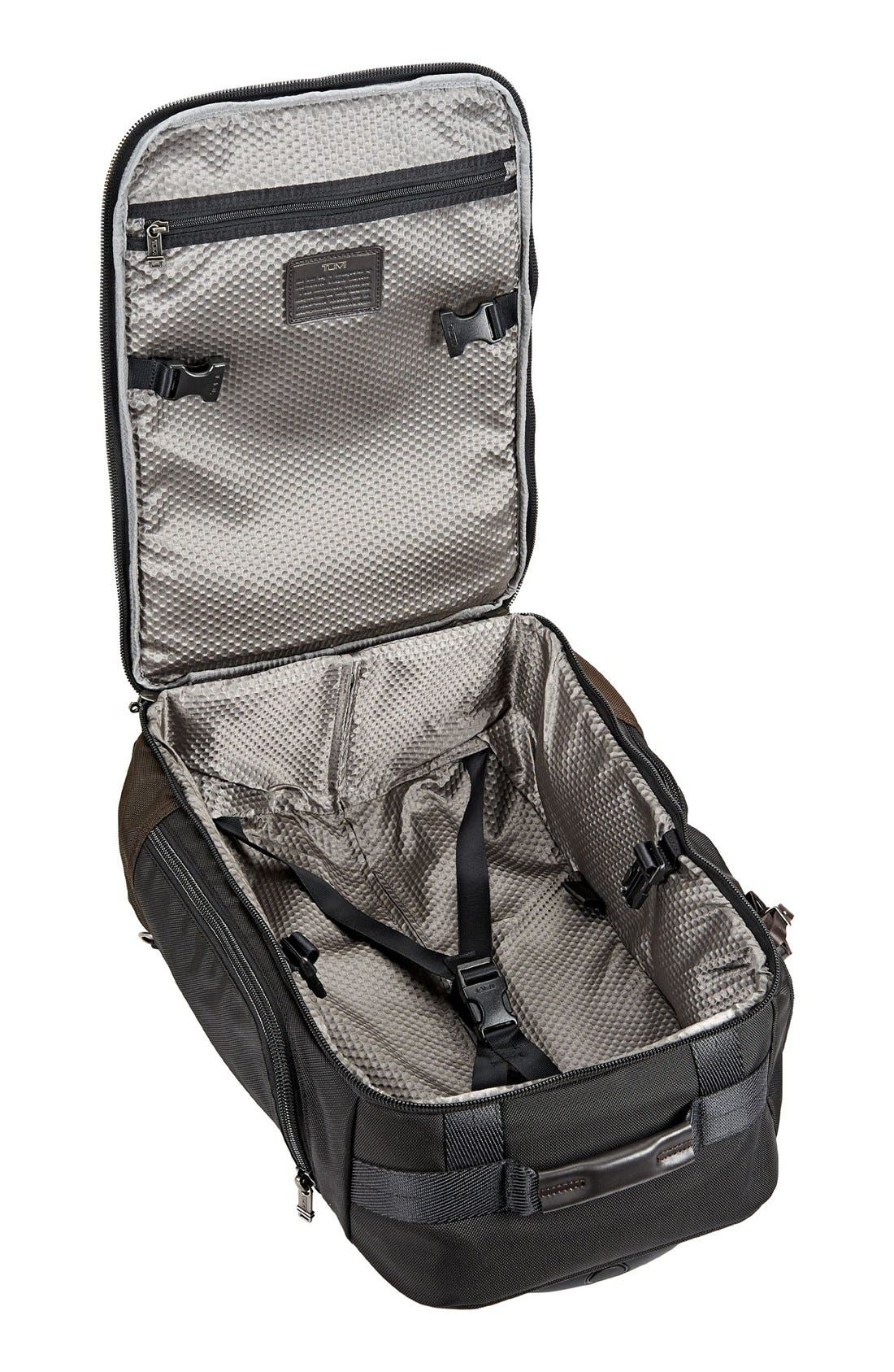 'Alpha Bravo – Peterson' Wheeled Backpack,                             Alternate thumbnail 5, color,                             Hickory Black