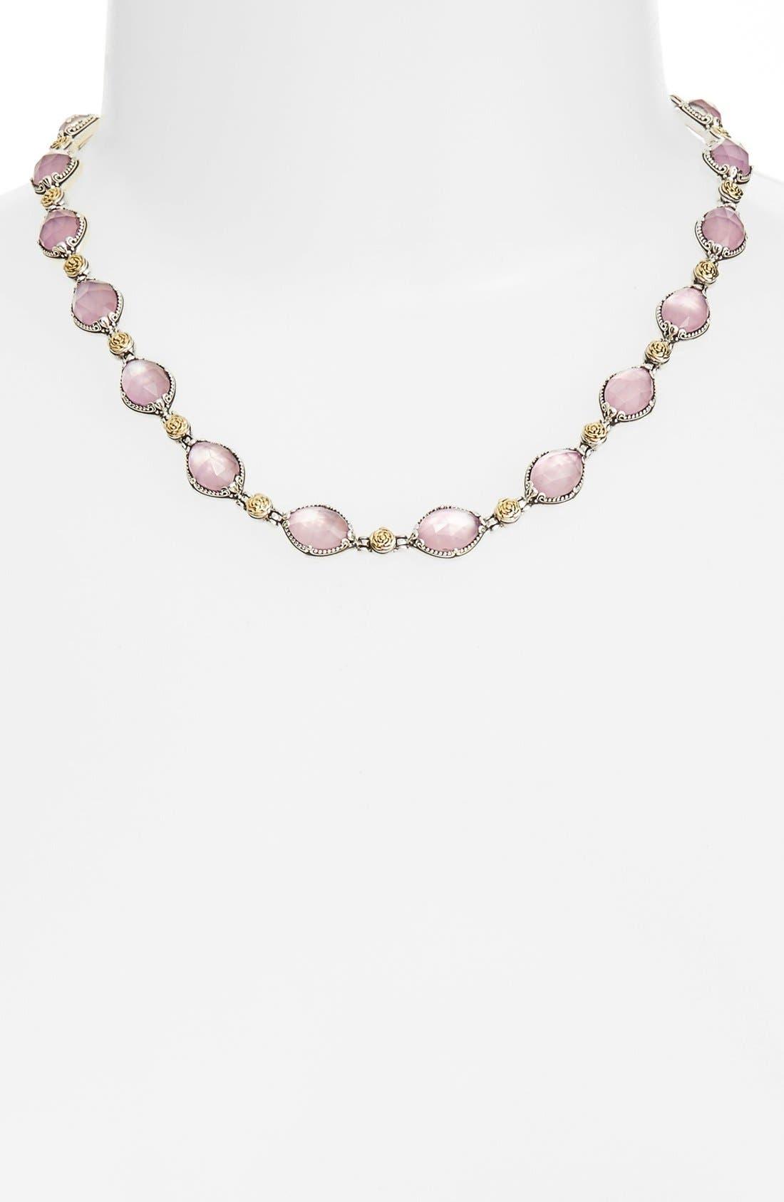 Konstantino 'Iliada' Doublet Collar Necklace