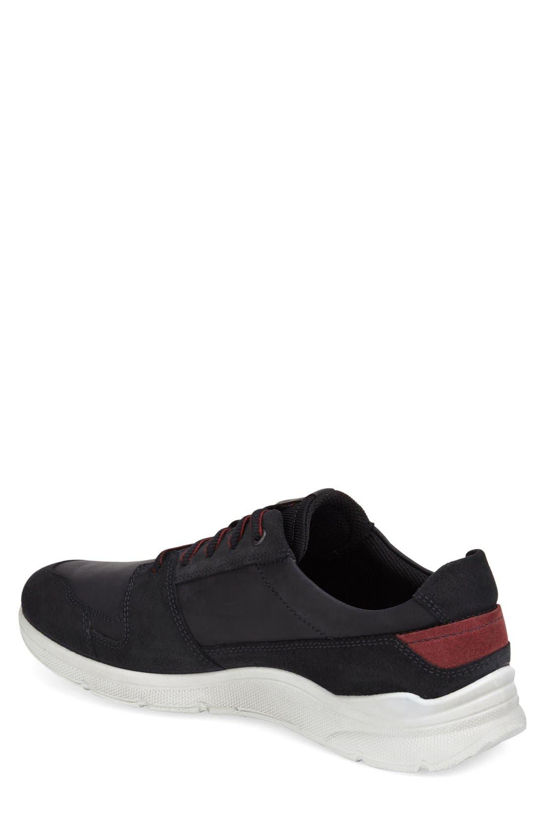 Alternate Image 2  - ECCO 'Irondale - Retro' Sneaker (Men)