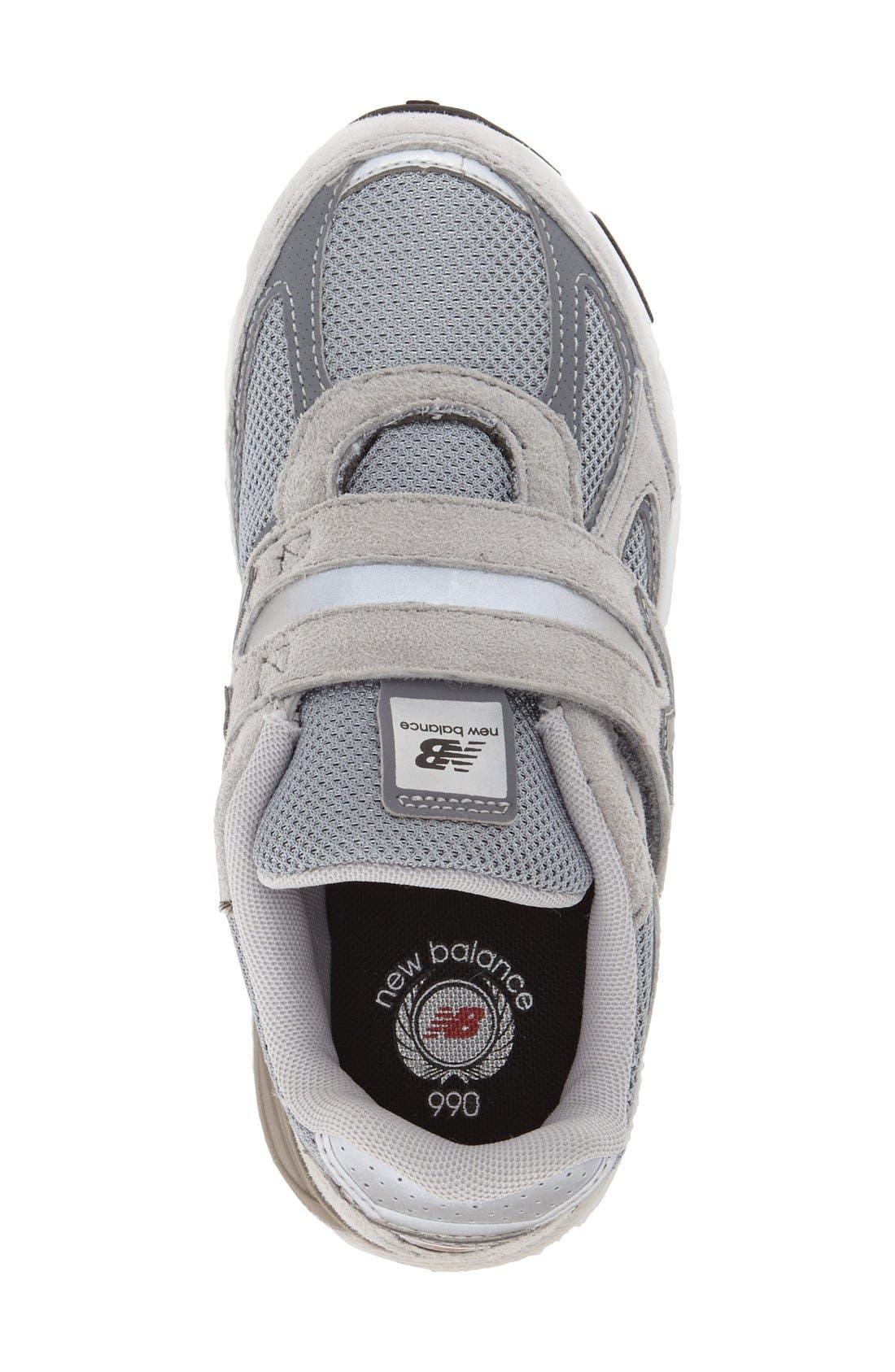 '990v4' Sneaker,                             Alternate thumbnail 3, color,                             Grey