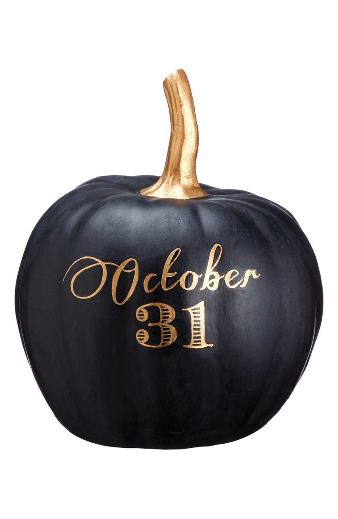Alternate Image 1 Selected - ALLSTATE 'October 31' Pumpkin Decoration