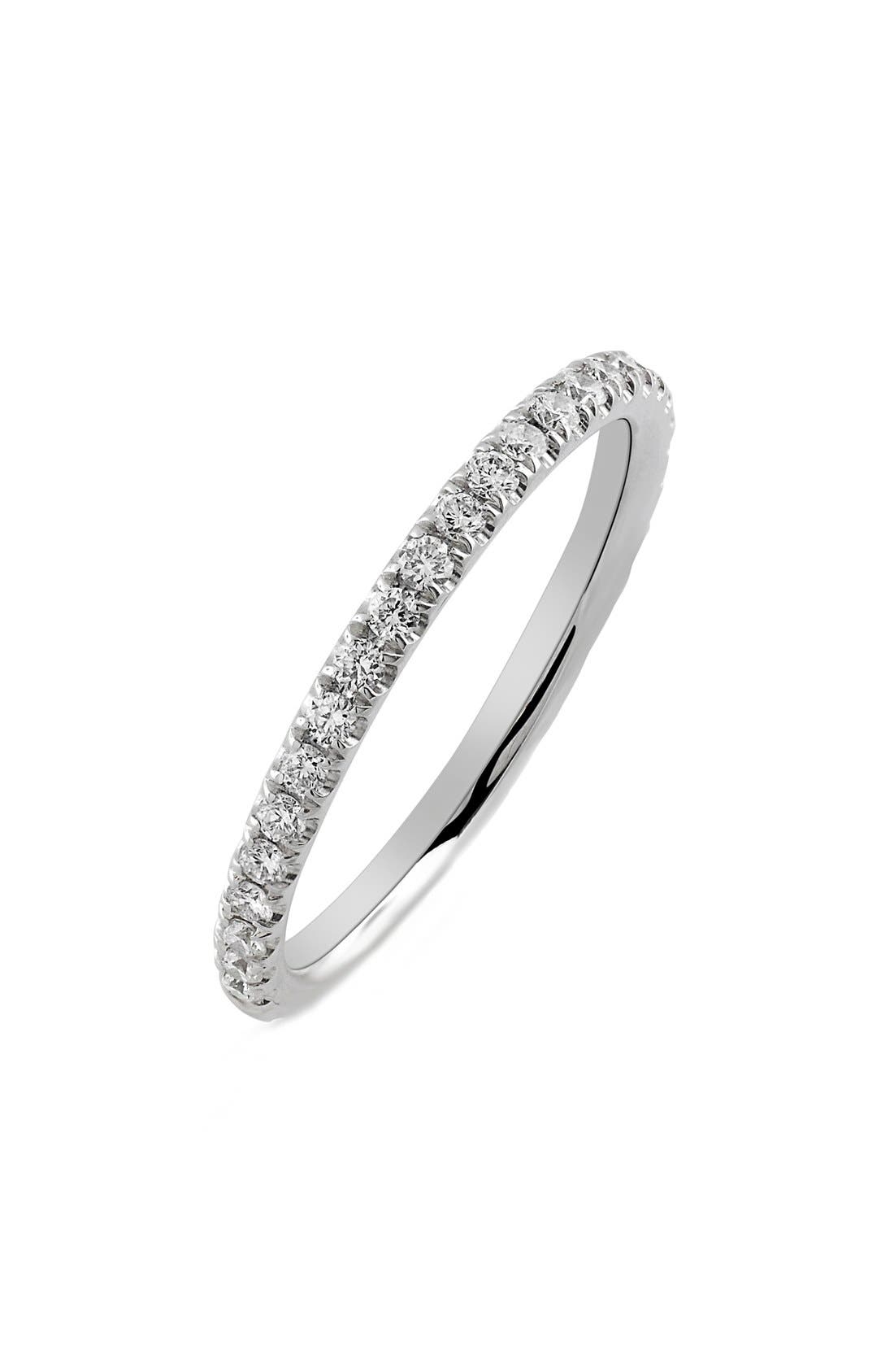 Bony Levy 'Eternity' Diamond Band Ring (Nordstrom Exclusive)
