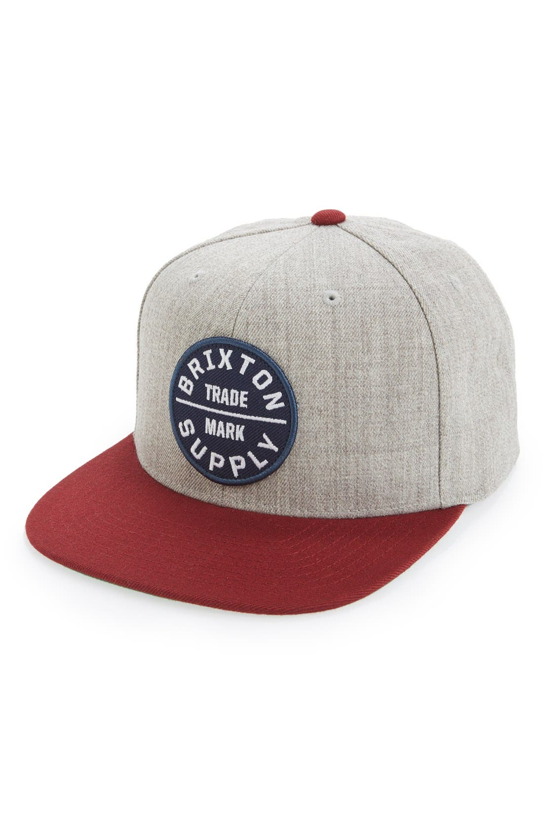 Alternate Image 1 Selected - Brixton 'Oath III' Snapback Cap