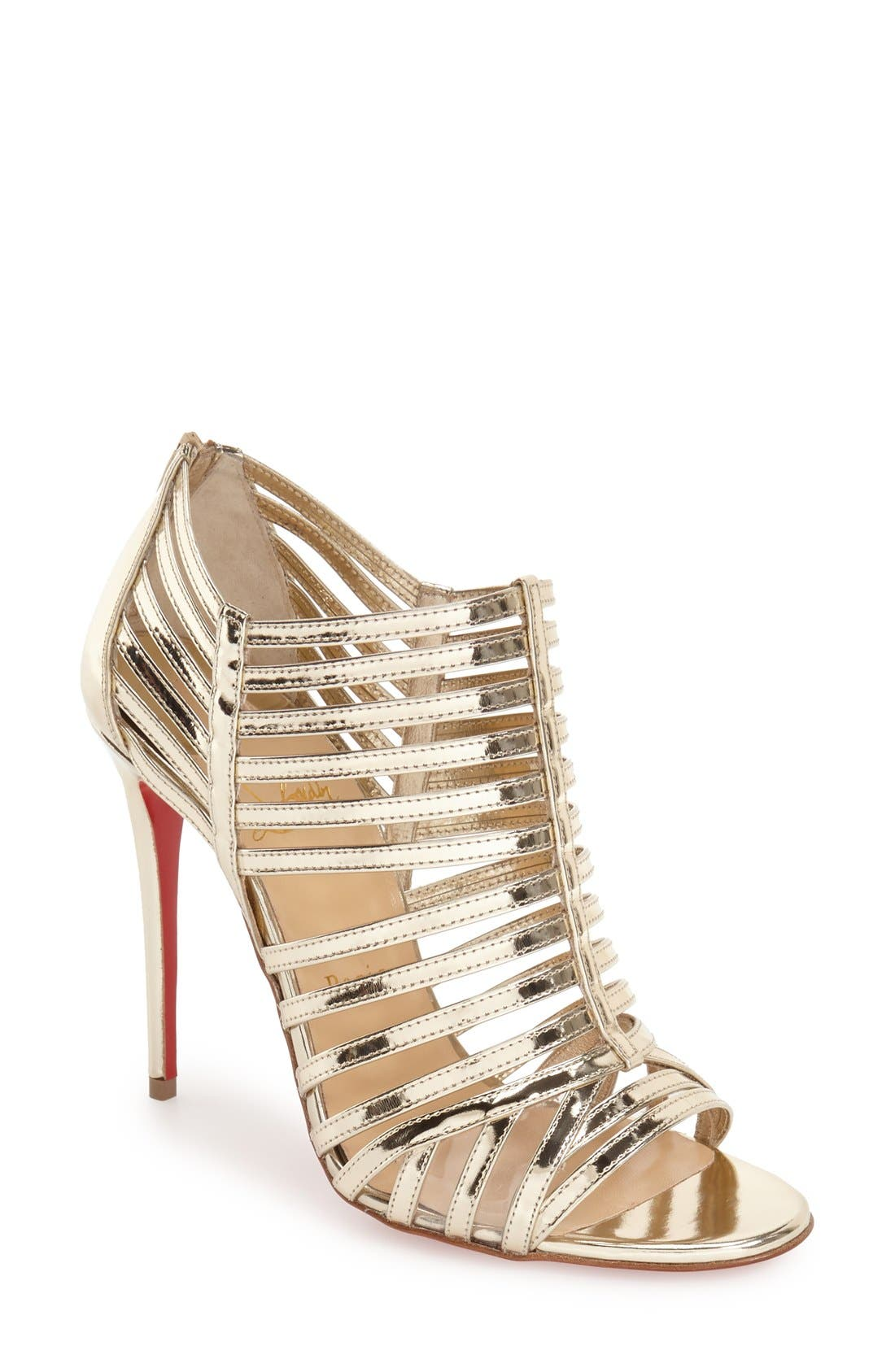 Alternate Image 1 Selected - Christian Louboutin 'City Jolly' Cage Sandal
